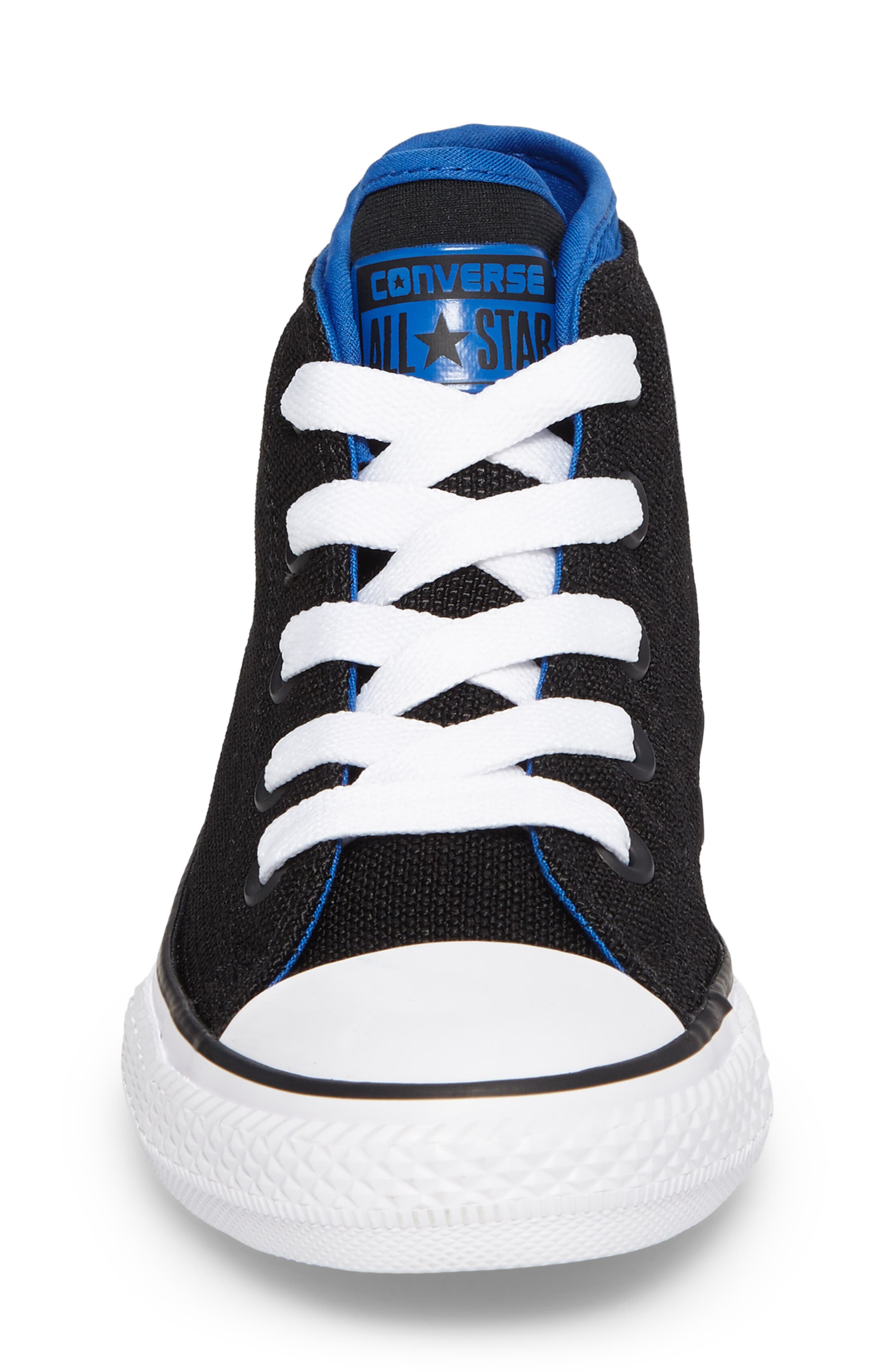 Chuck Taylor<sup>®</sup> All Star<sup>®</sup> Syde Street High Top Sneaker,                             Alternate thumbnail 4, color,                             001