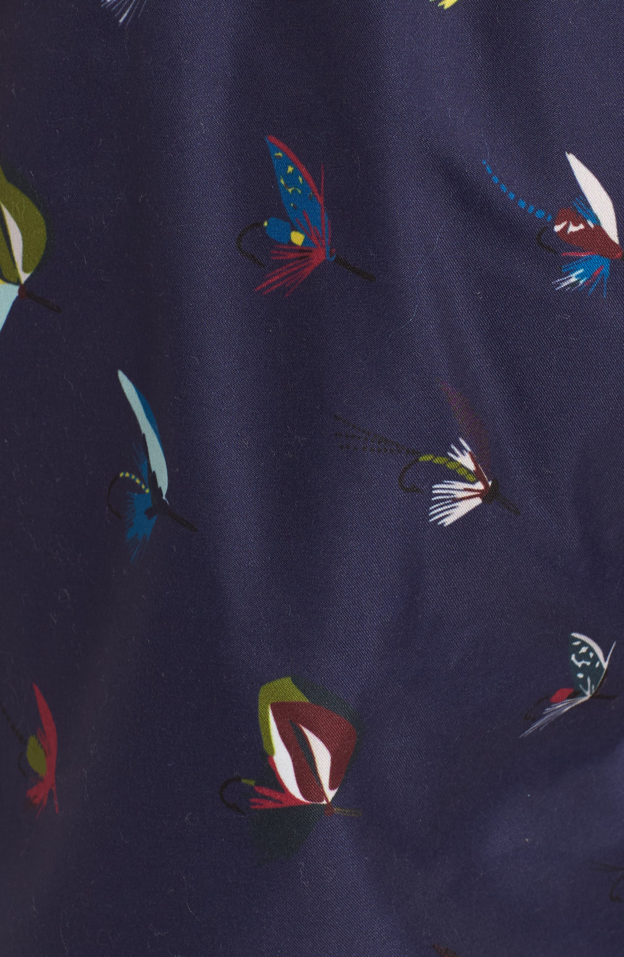 Fish Fly Swim Shorts,                             Alternate thumbnail 5, color,                             410