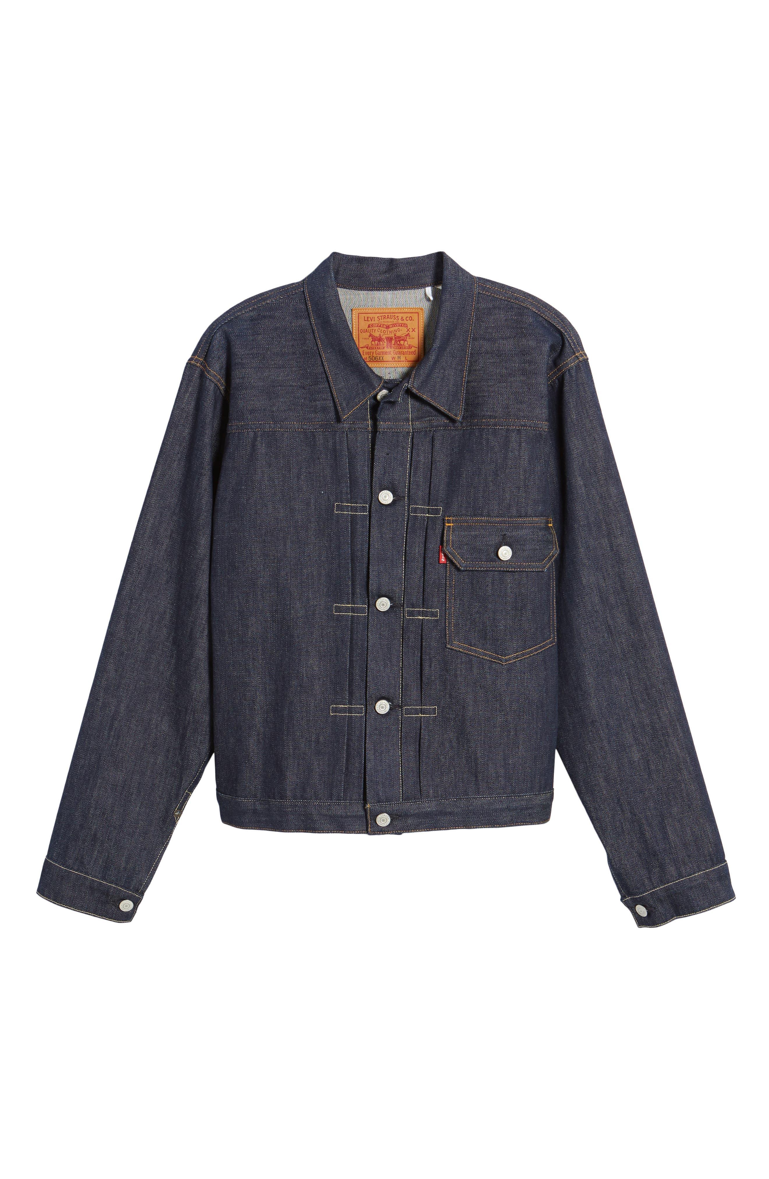 1936 Type I Denim Jacket,                             Alternate thumbnail 5, color,                             499