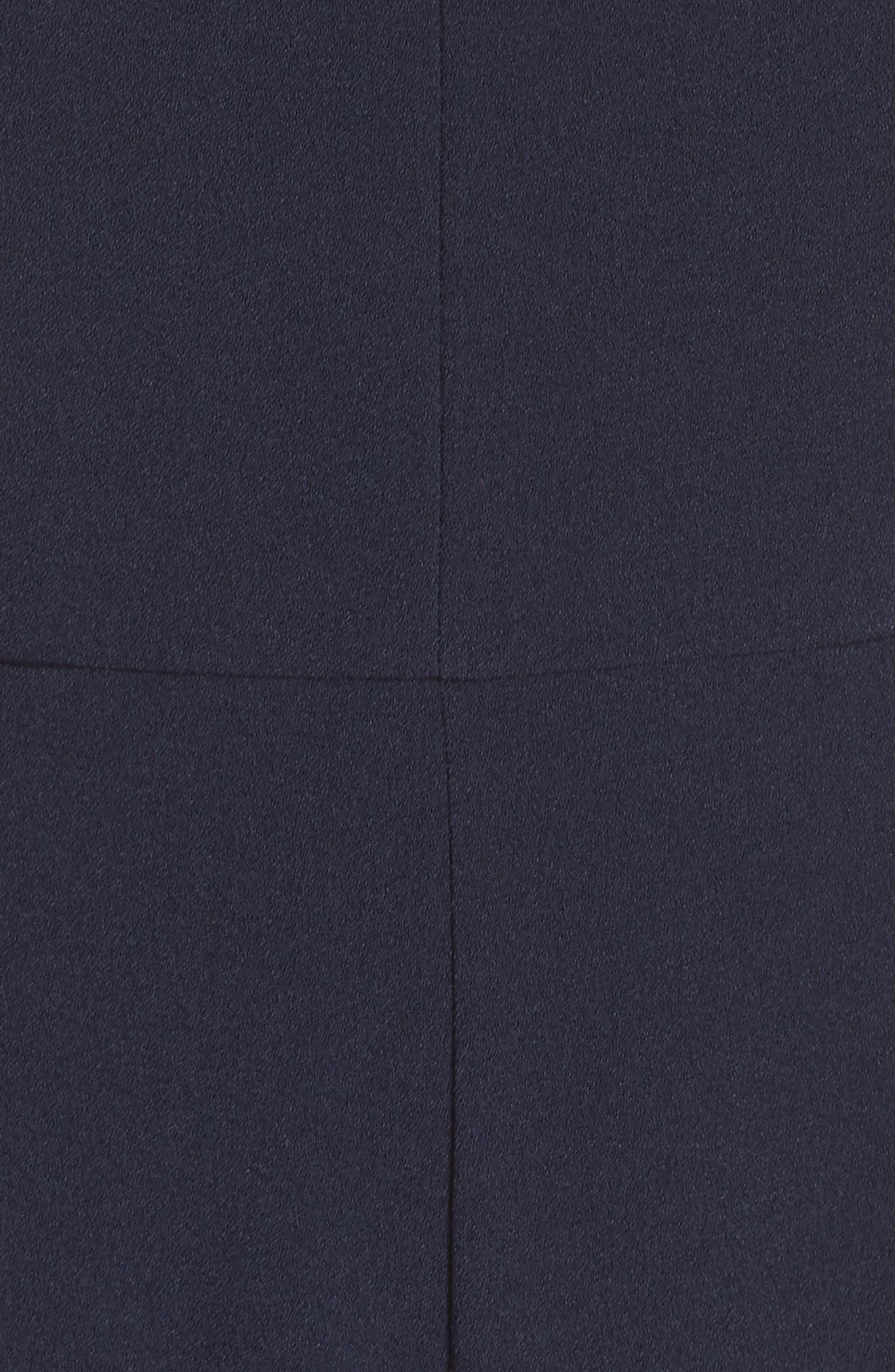Halter Neck Jumpsuit,                             Alternate thumbnail 6, color,                             NAVY