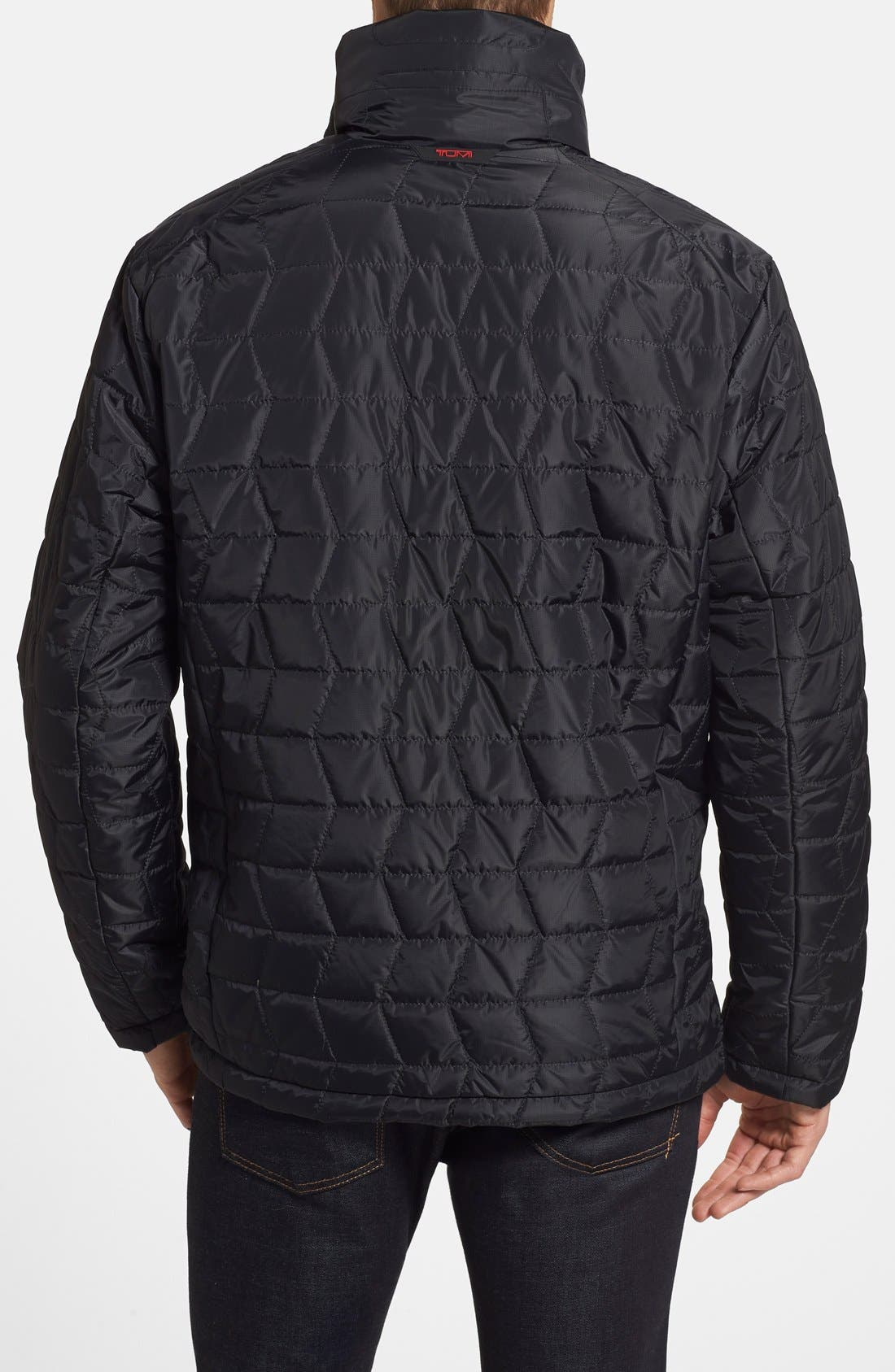 'Mission' Quilted Jacket,                             Alternate thumbnail 3, color,                             001