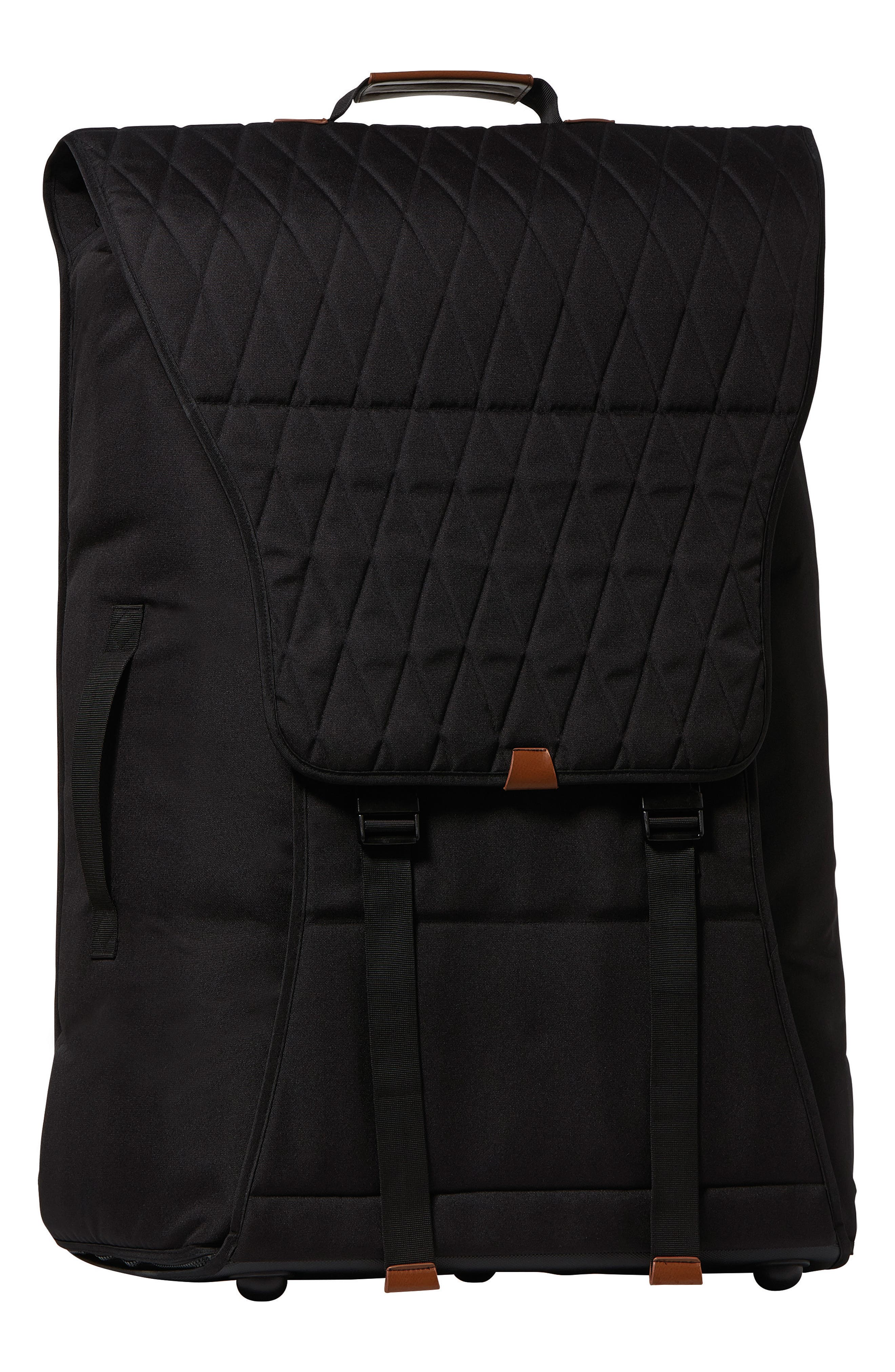 Traveller Water-Resistant Stroller Travel Bag,                             Main thumbnail 1, color,                             BLACK