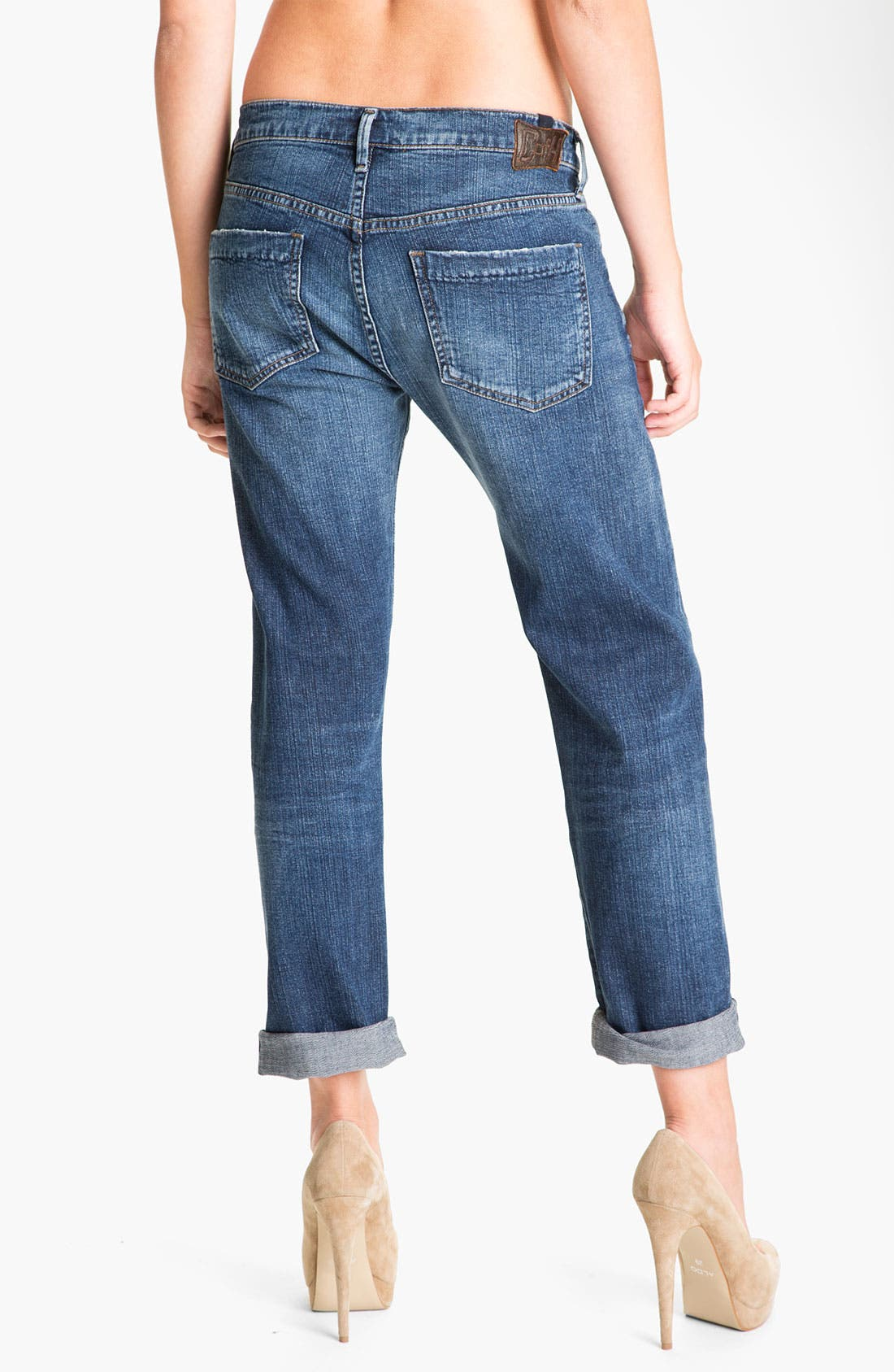 'Dylan' High Rise Loose Fit Jeans,                             Alternate thumbnail 3, color,                             479
