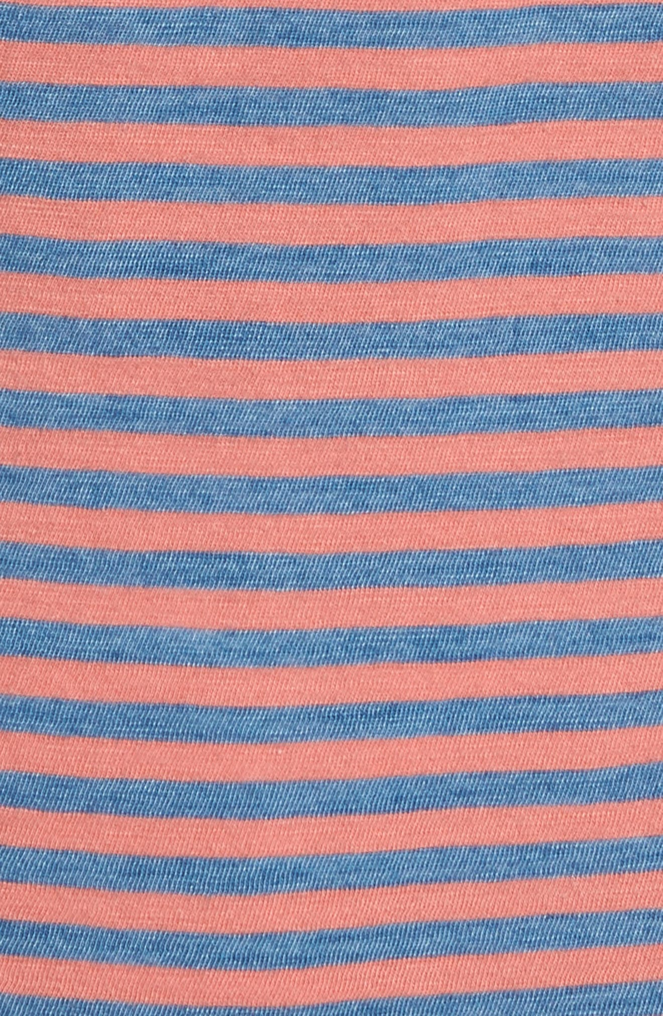 Crew Stripe Polo,                             Alternate thumbnail 5, color,