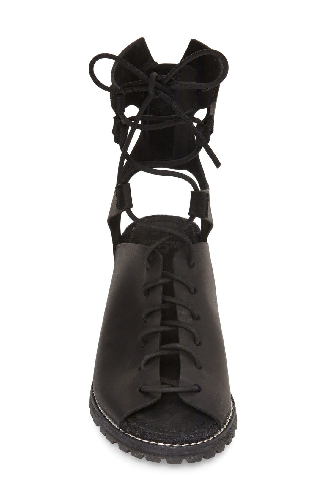 'Mohave Arroyo' Lace-Up Boot,                             Alternate thumbnail 5, color,