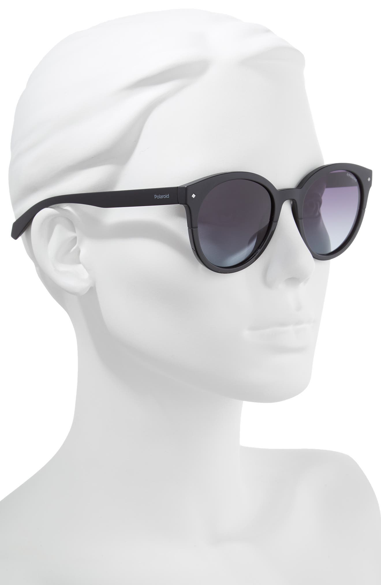 Basic 51mm Polarized Sunglasses,                             Alternate thumbnail 2, color,                             001