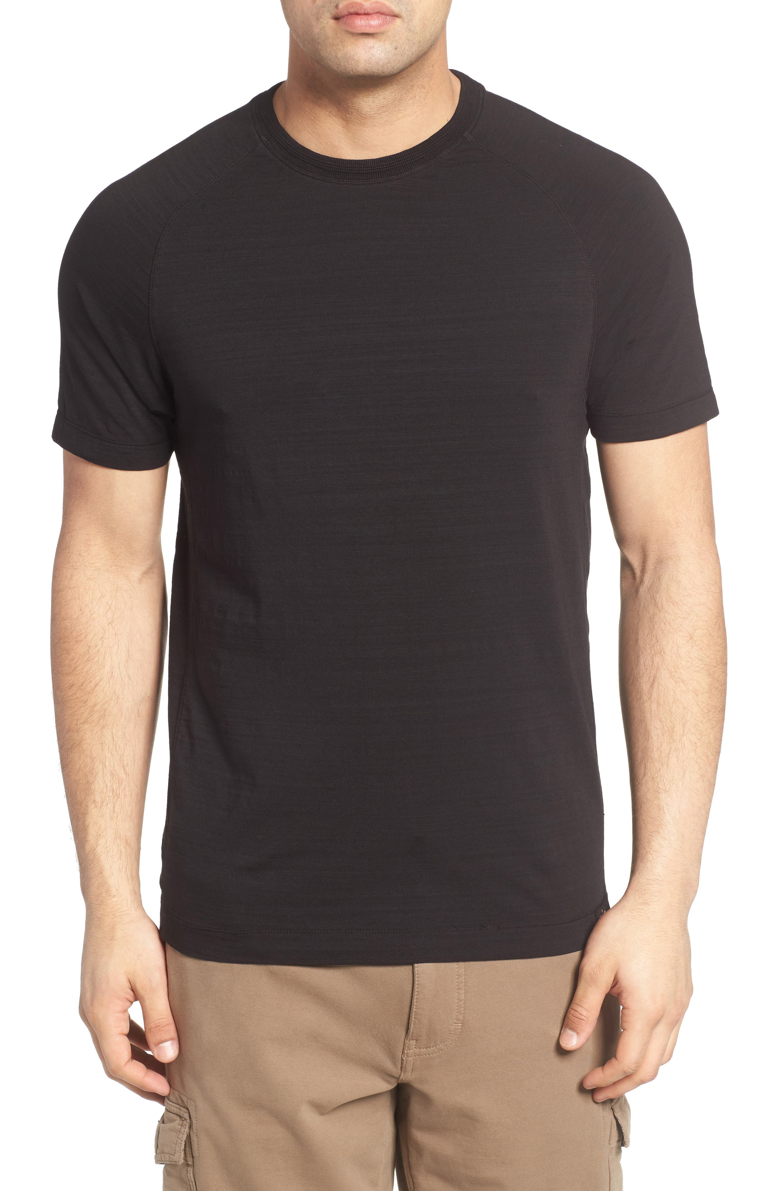 Riggs Stretch Slub Jersey T-Shirt,                             Main thumbnail 1, color,                             001