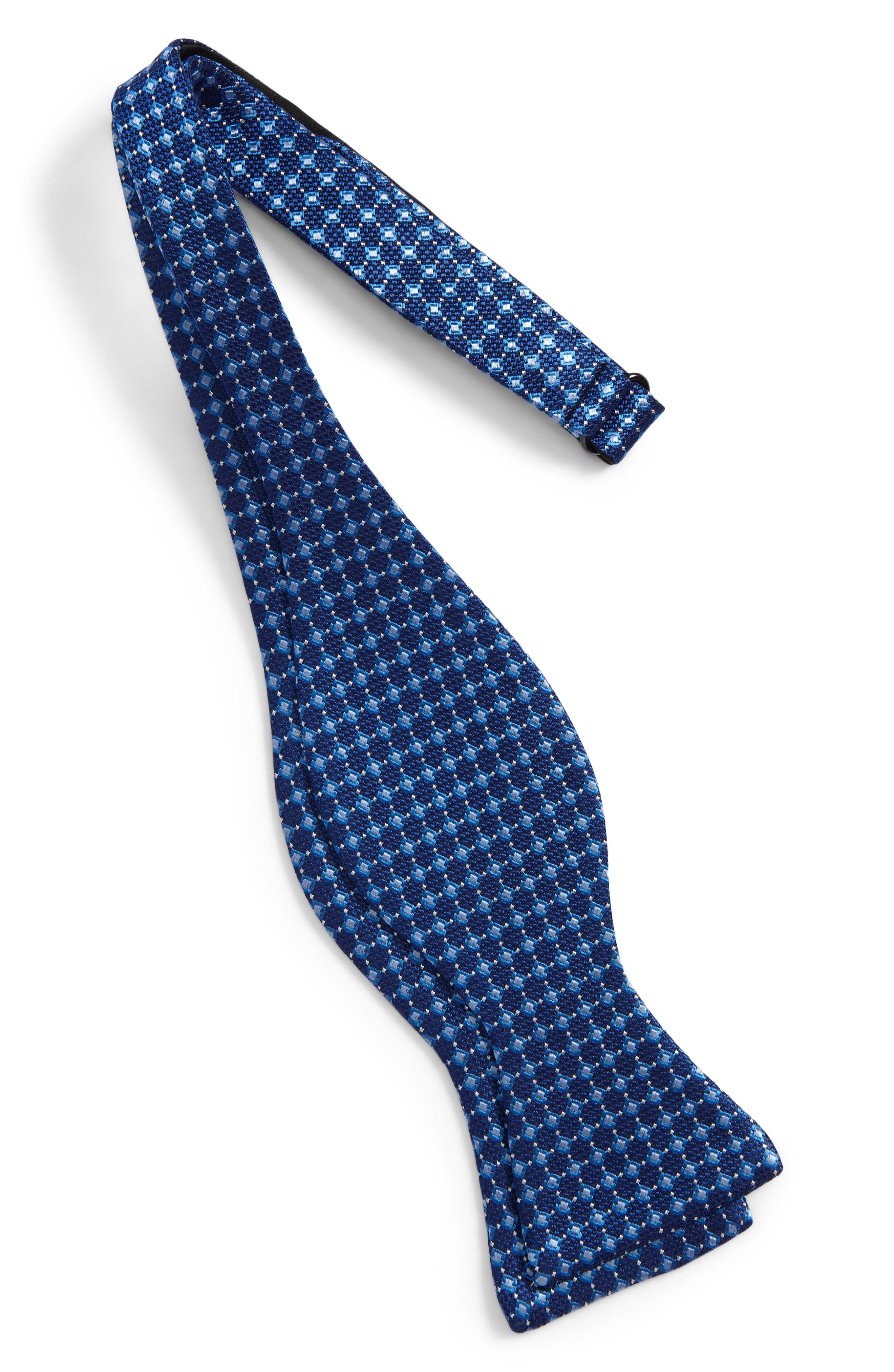 Nordstrom Men's Shop Jacquard Silk Tie,                             Alternate thumbnail 2, color,                             400