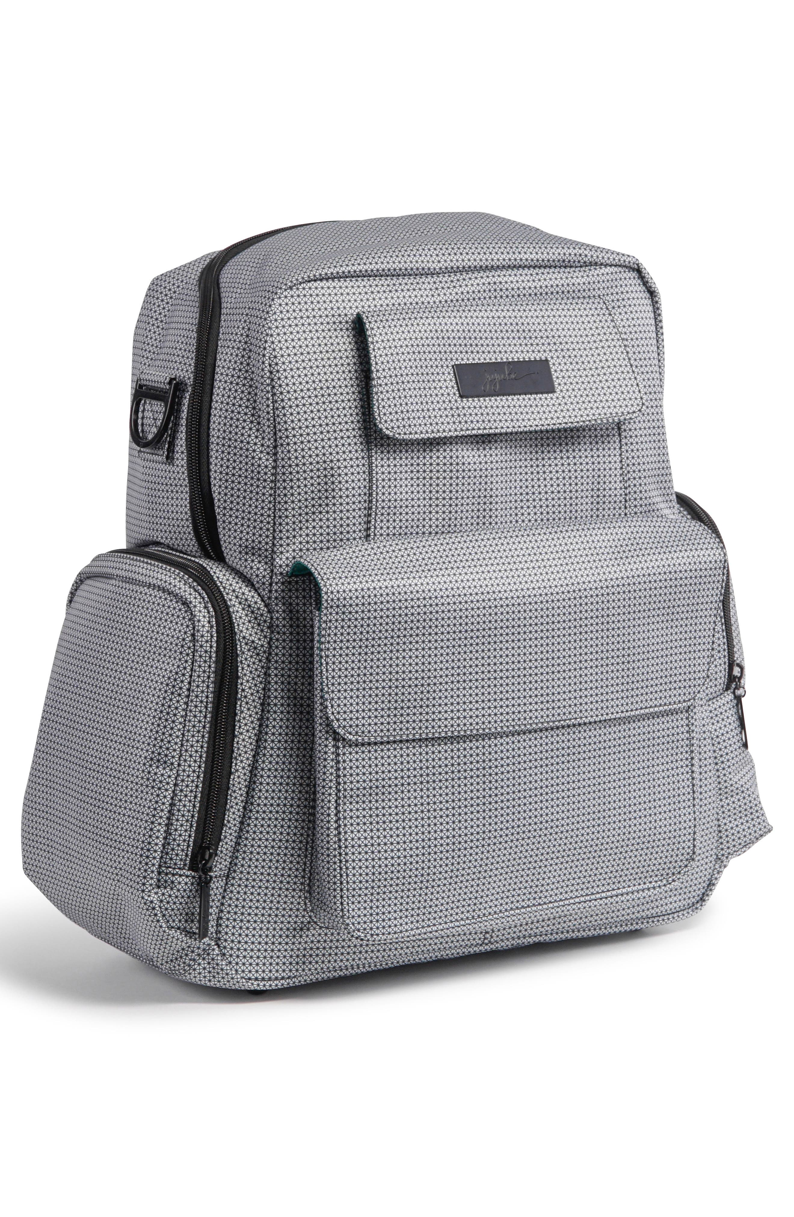 Be Nurtured Pumping Backpack,                             Alternate thumbnail 7, color,                             BLACK MATRIX