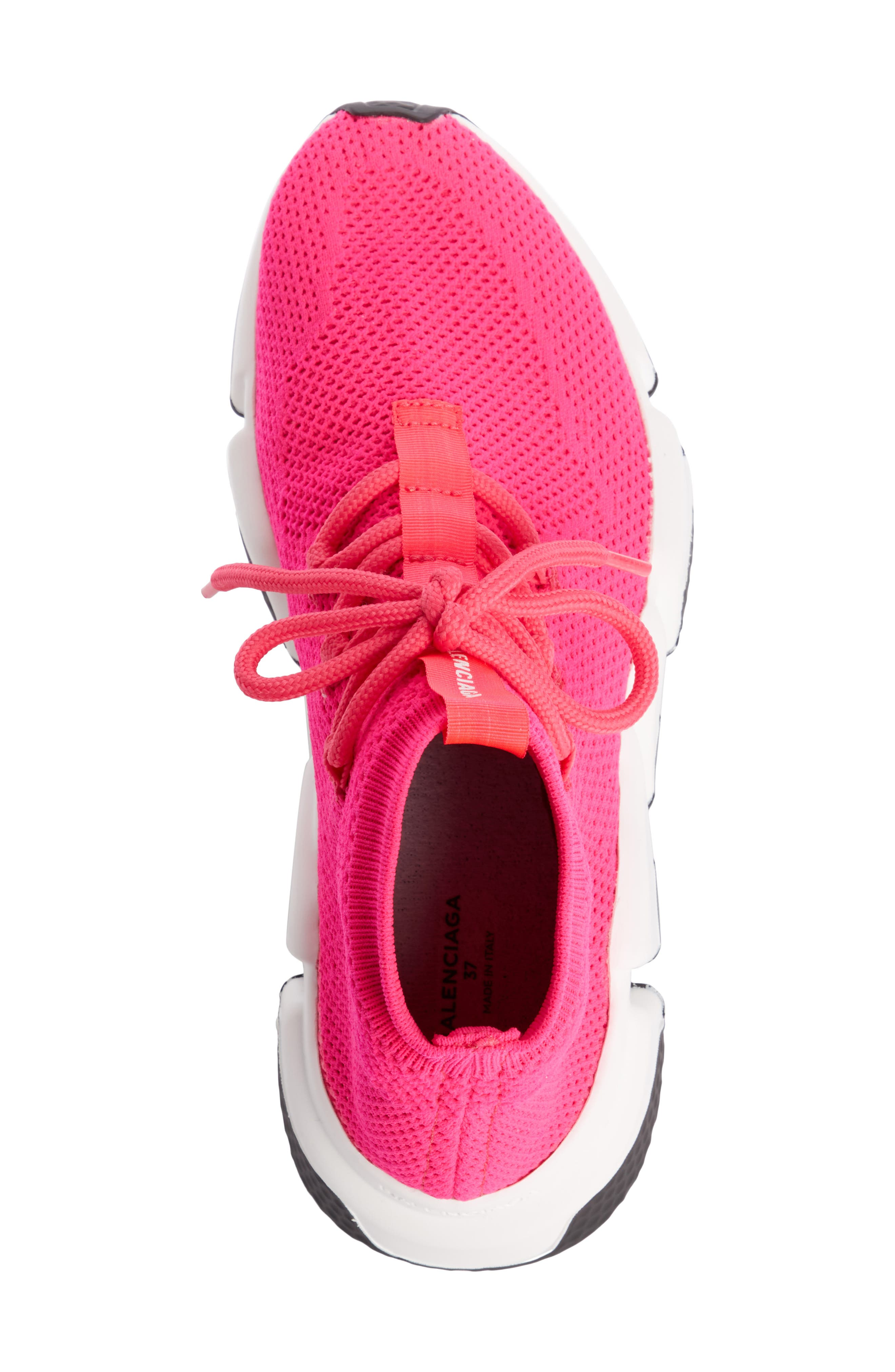 Low Speed Lace-Up Sneaker,                             Alternate thumbnail 4, color,                             PINK