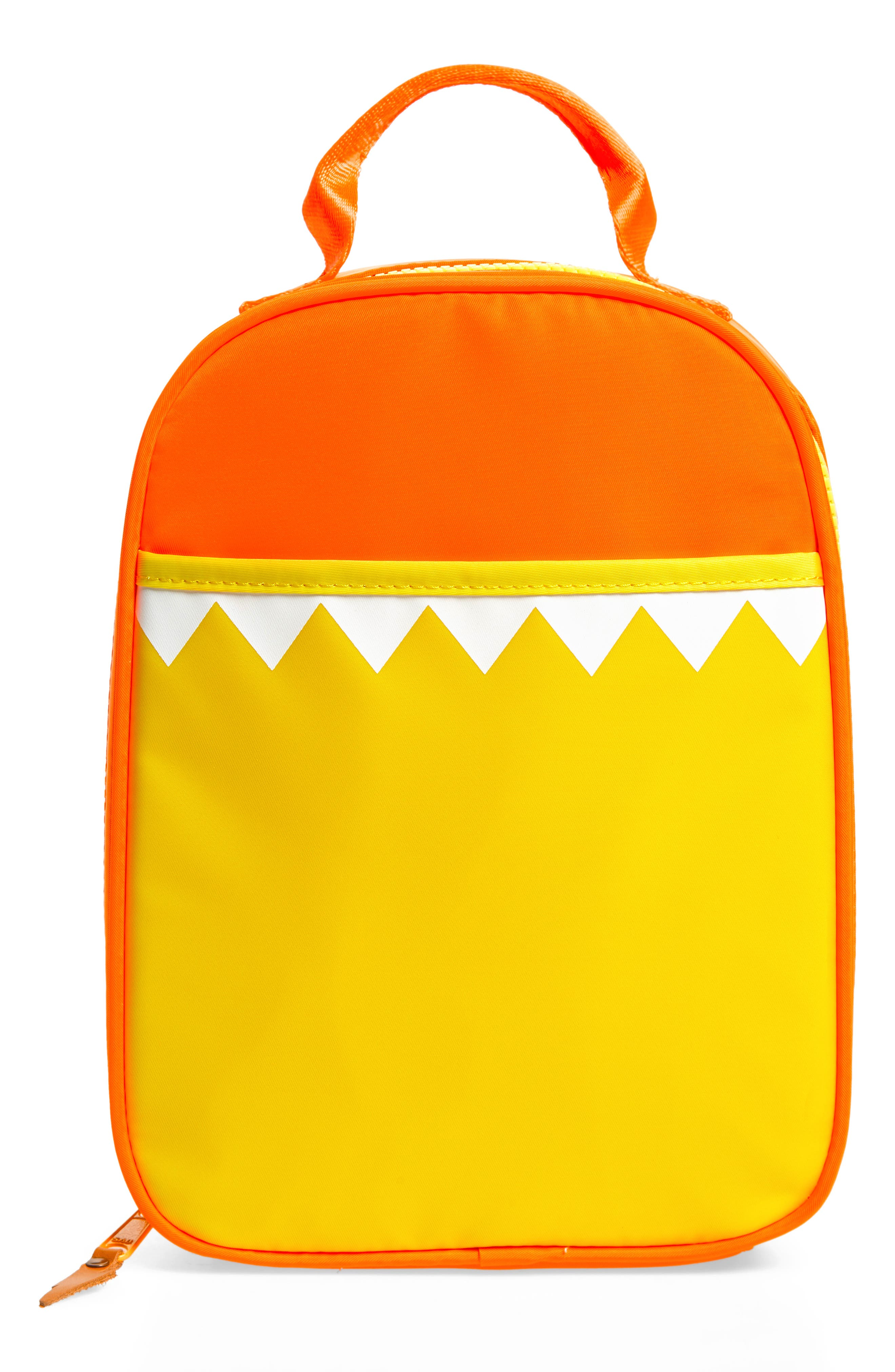Max the Monster<sup>™</sup> Lunchbox,                             Main thumbnail 1, color,                             BRIGHT PERSIMMON