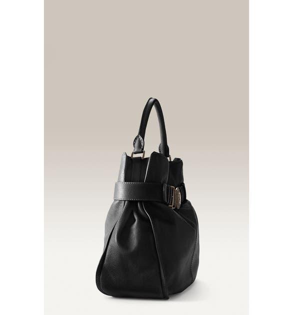 f6b3cf9ac0f5 Burberry Buffalo Leather Shoulder Bag