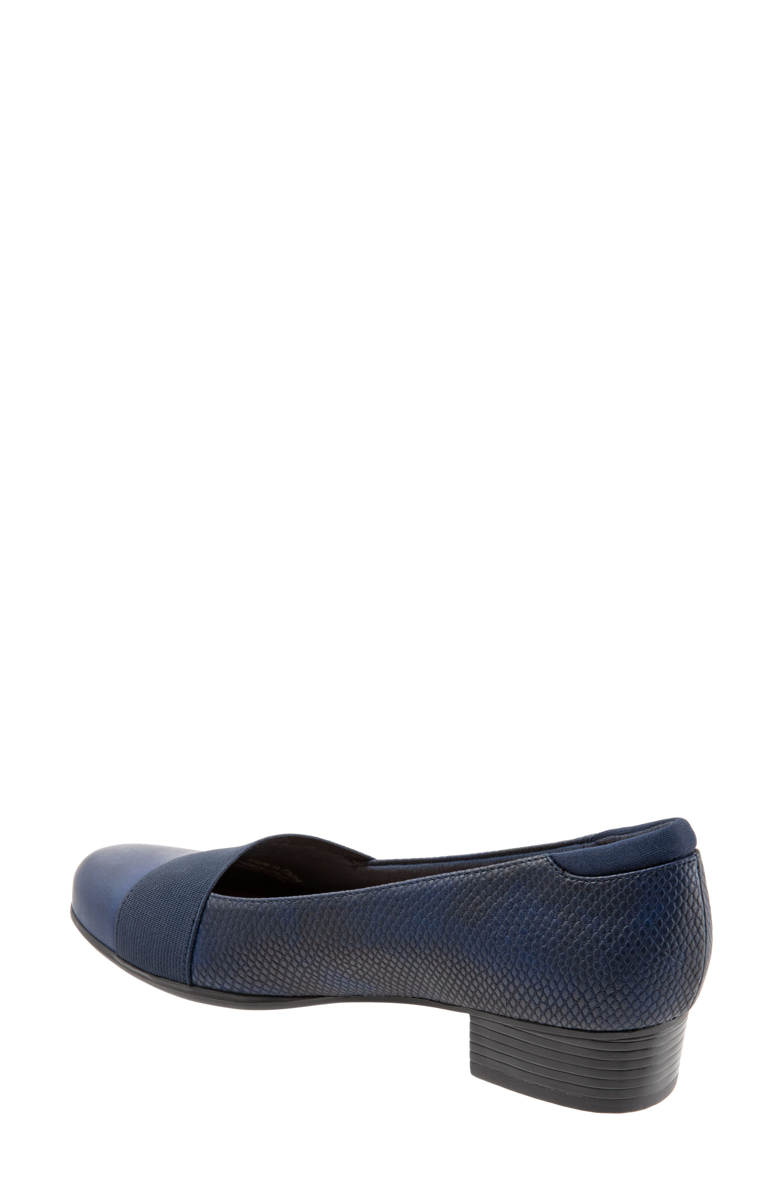 TROTTERS,                             Melinda Loafer,                             Alternate thumbnail 2, color,                             NAVY LEATHER