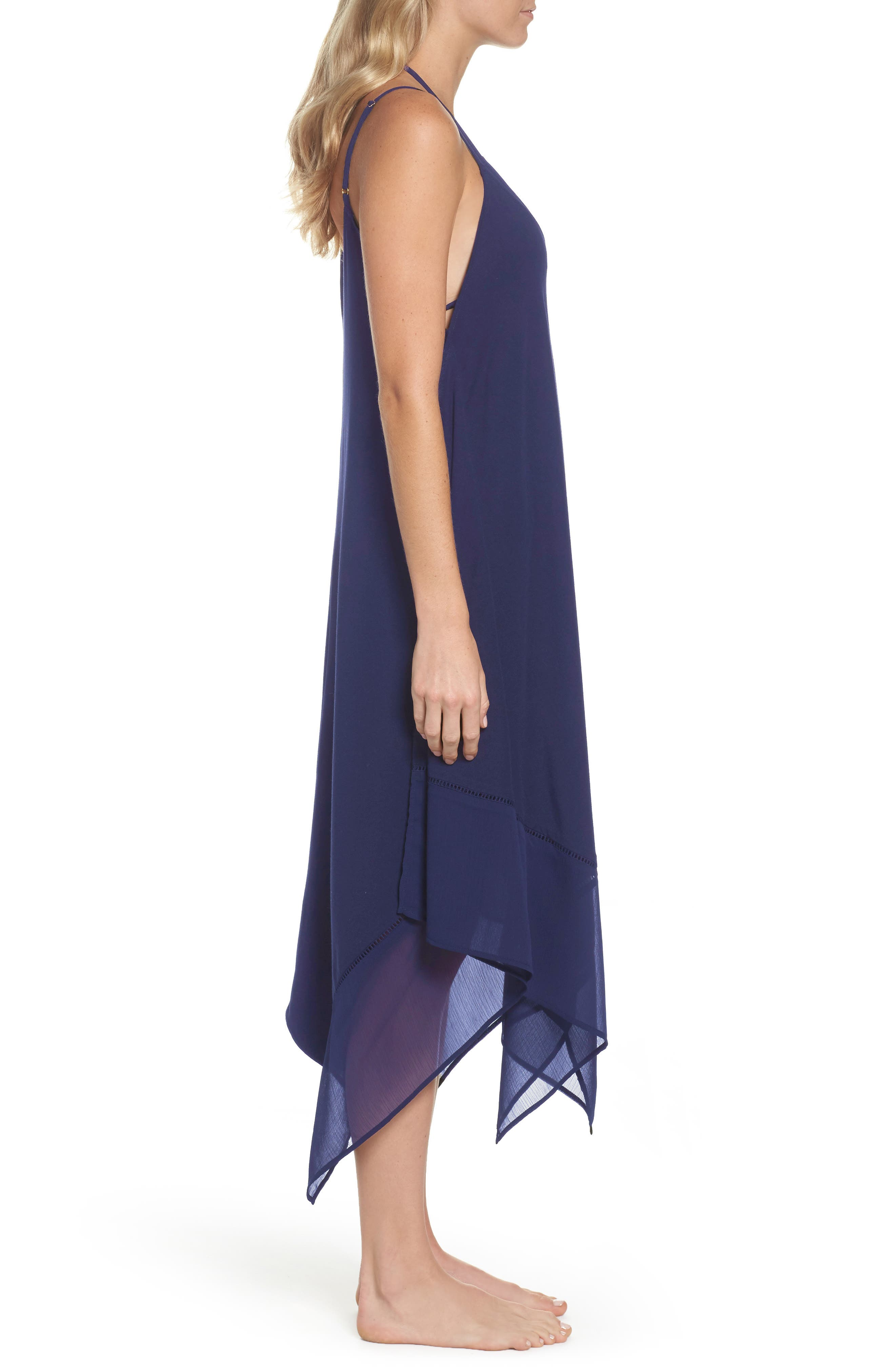 Cover-Up Scarf Dress,                             Alternate thumbnail 6, color,