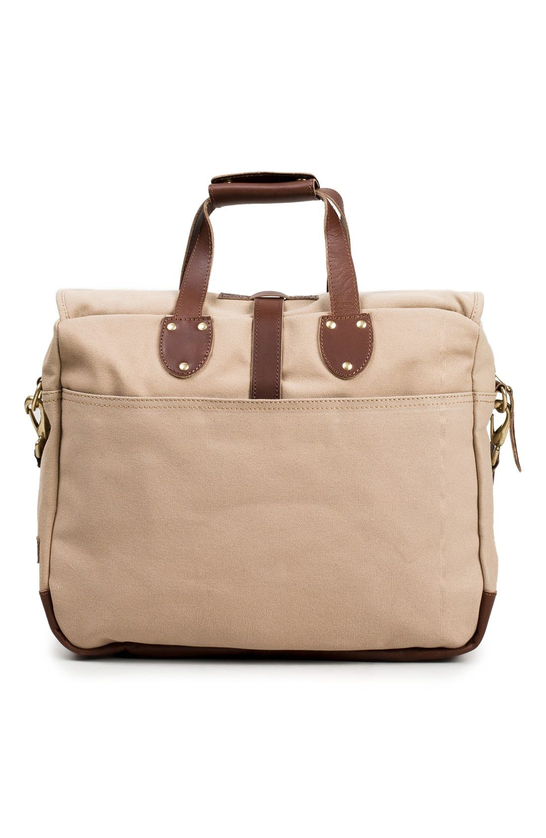 'Lakeland' Laptop Bag,                             Alternate thumbnail 3, color,                             TAN