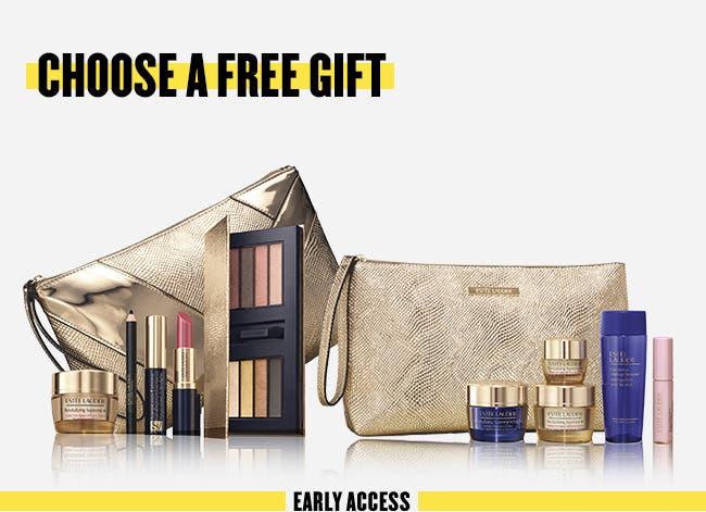 Choose a free gift with $45 Estée Lauder purchase. A $185 value.