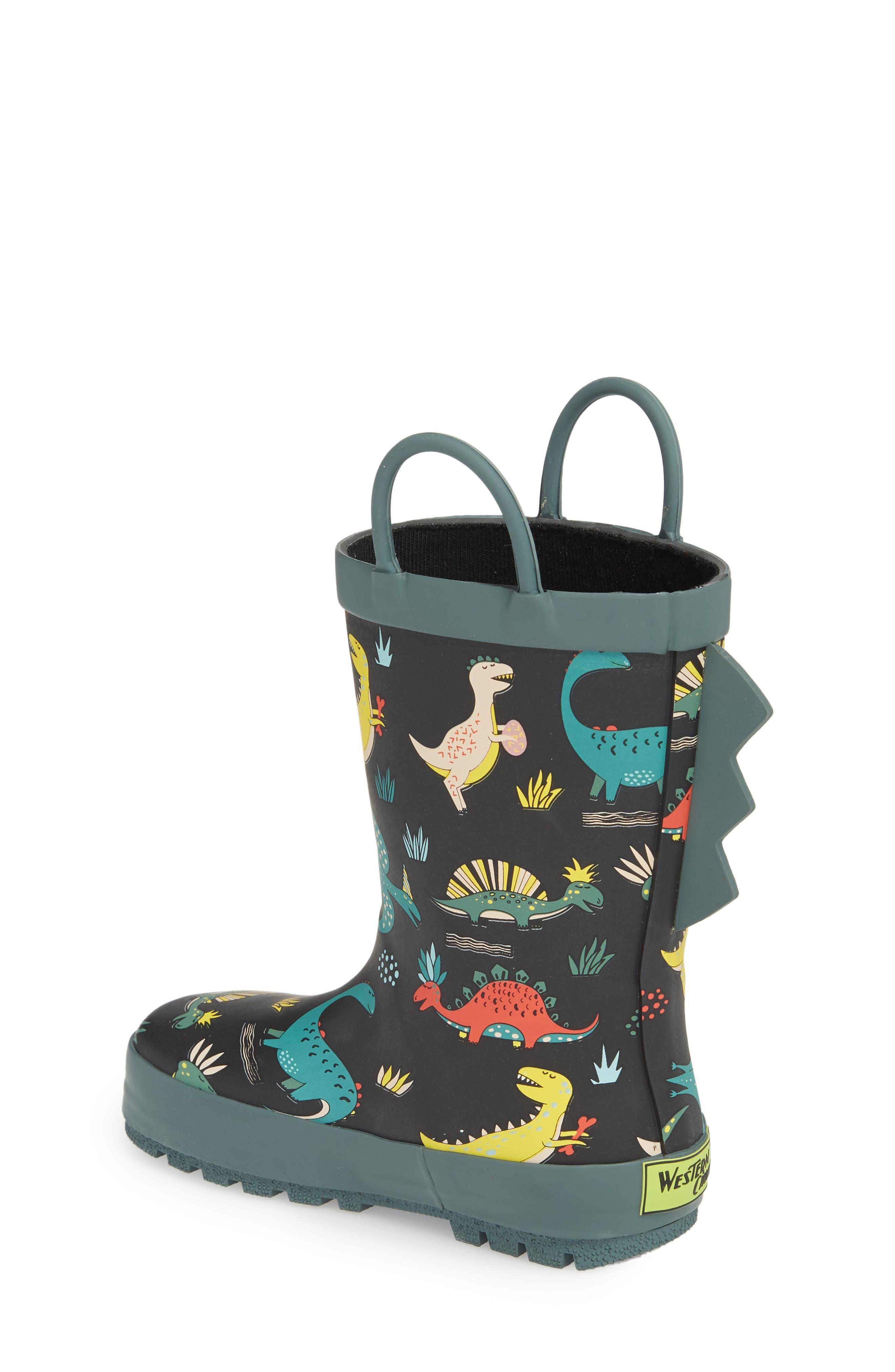 Jurassic Jumble Rain Boot,                             Alternate thumbnail 2, color,                             001