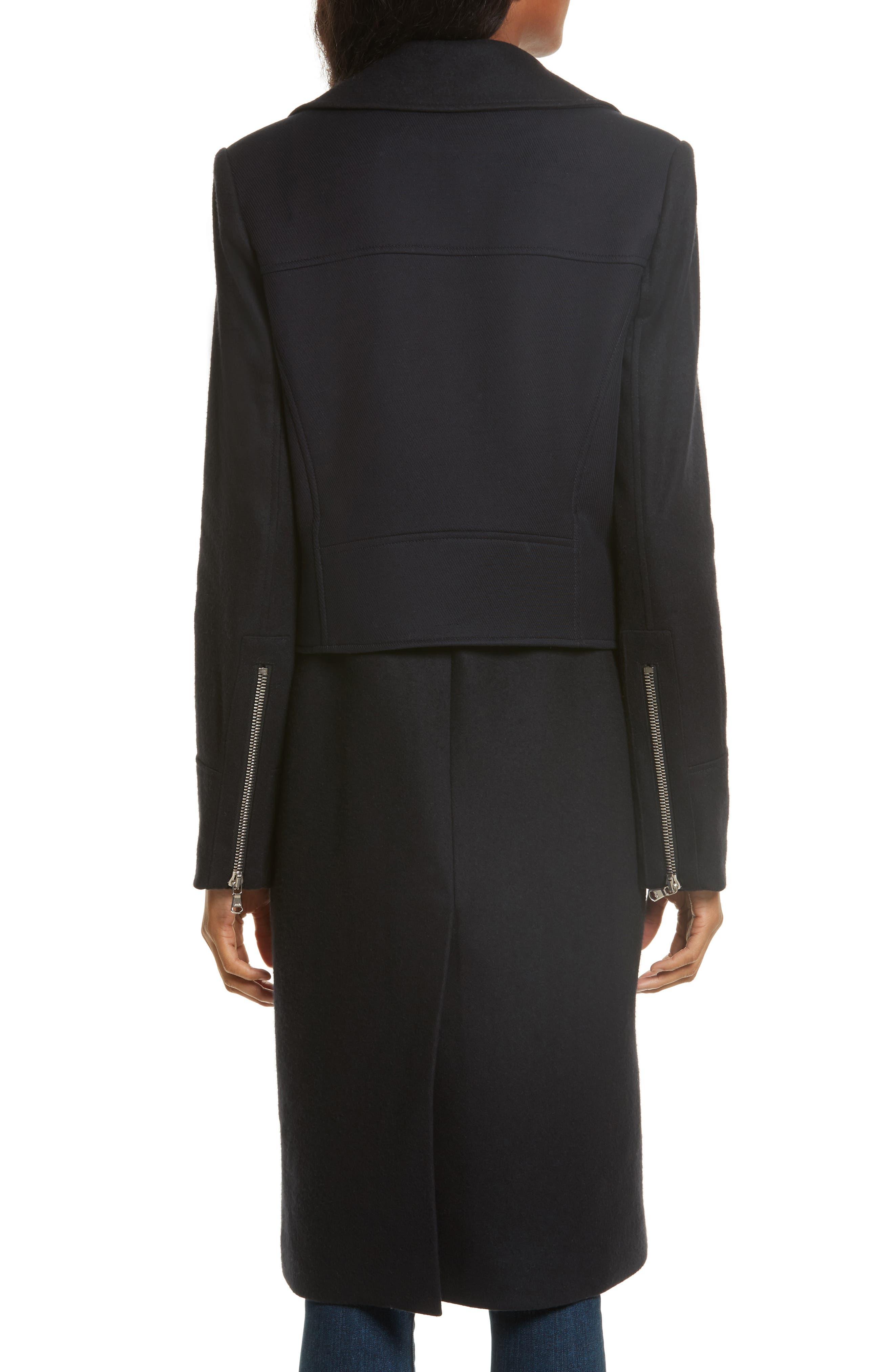 Alcott Wool & Cashmere Blend Vest Coat,                             Alternate thumbnail 2, color,                             414