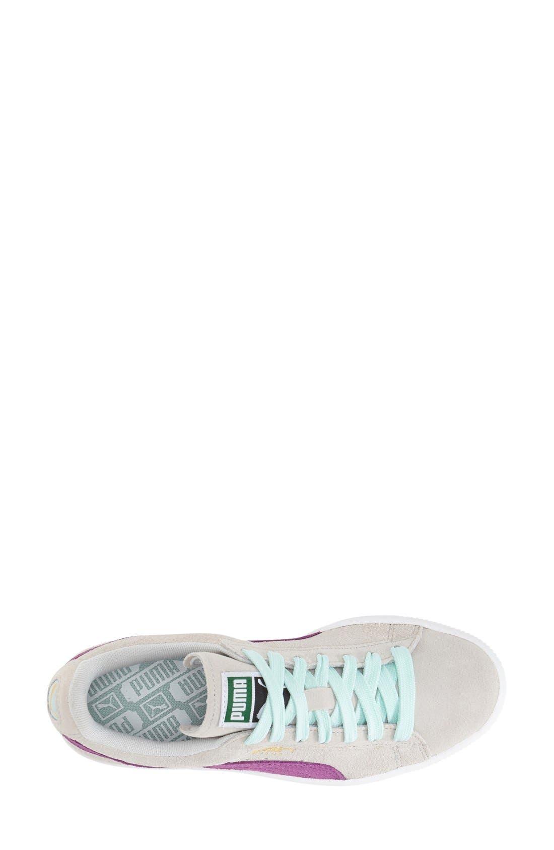 Suede Sneaker,                             Alternate thumbnail 64, color,