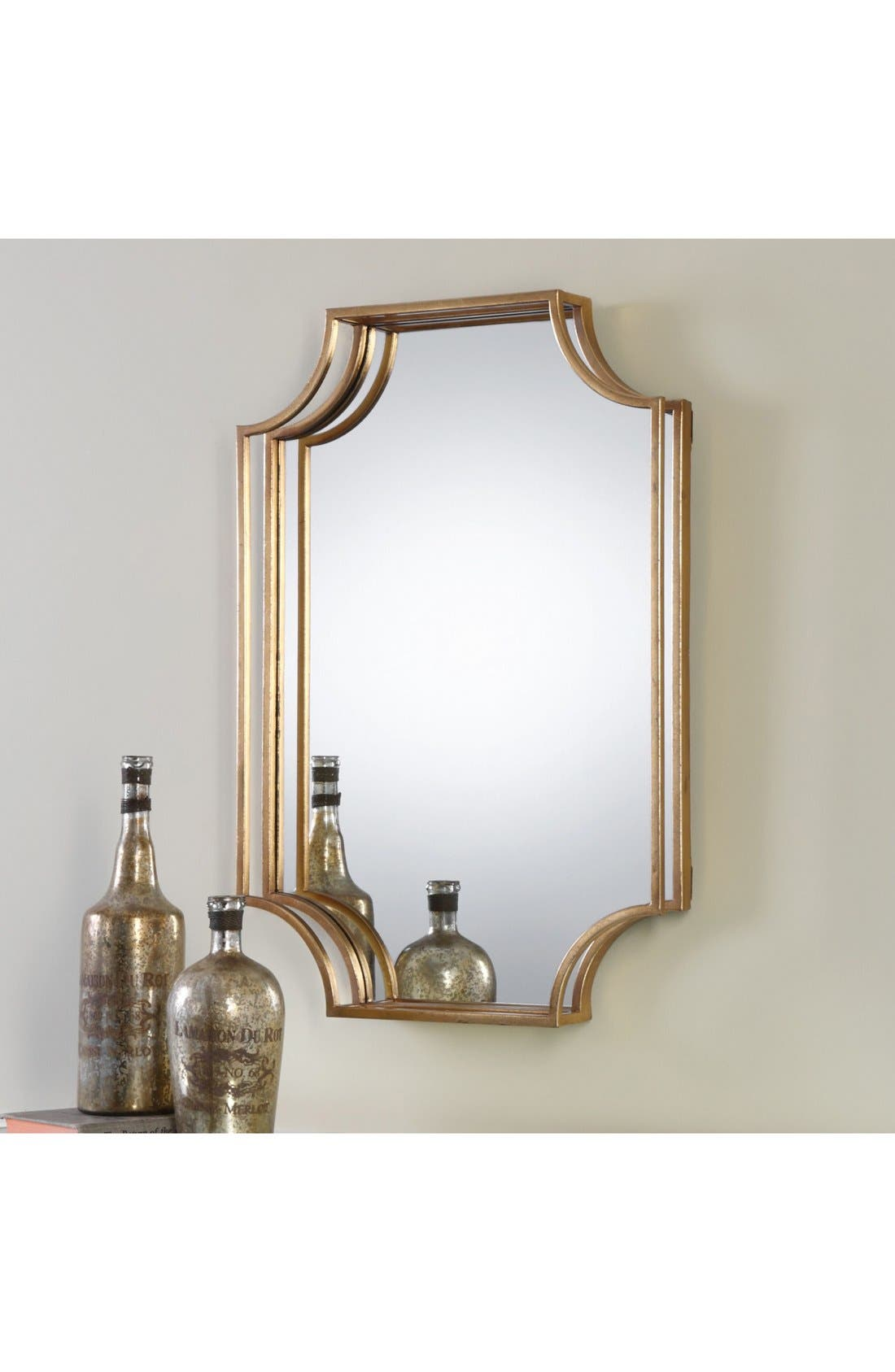 Open Frame Wall Mirror,                             Alternate thumbnail 2, color,                             710