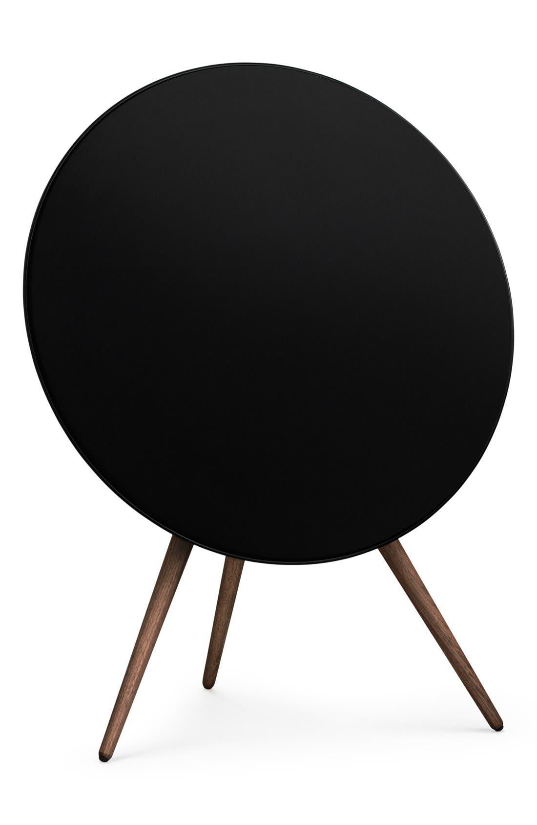'A9' Bluetooth<sup>®</sup> Speaker,                             Main thumbnail 1, color,                             BLACK