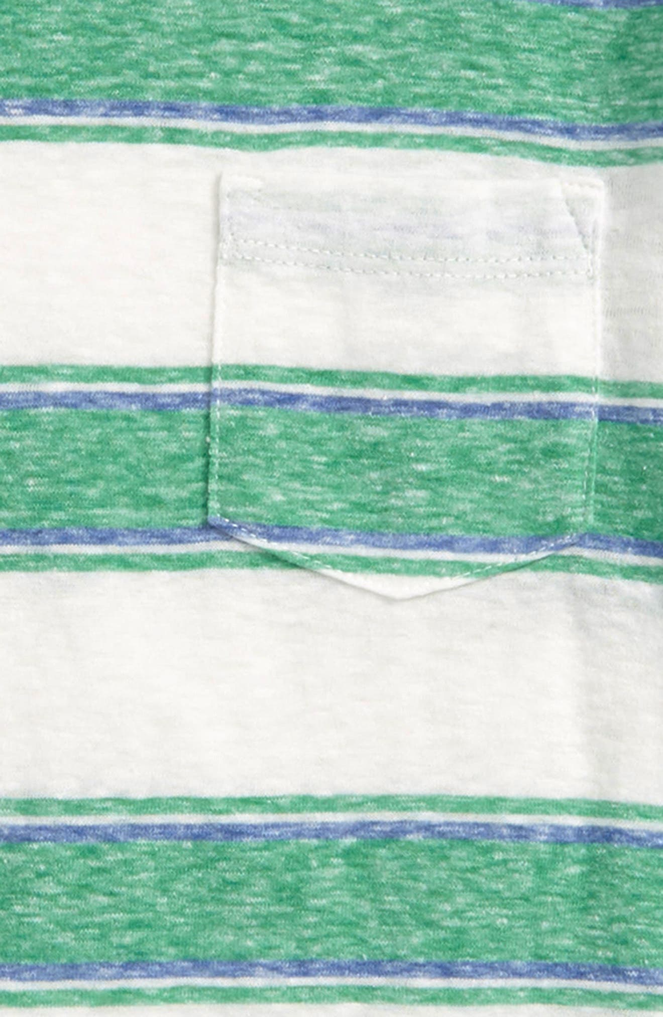 Abbot Surfside Stripe T-Shirt,                             Alternate thumbnail 2, color,                             CLOVER IVORY MULTI
