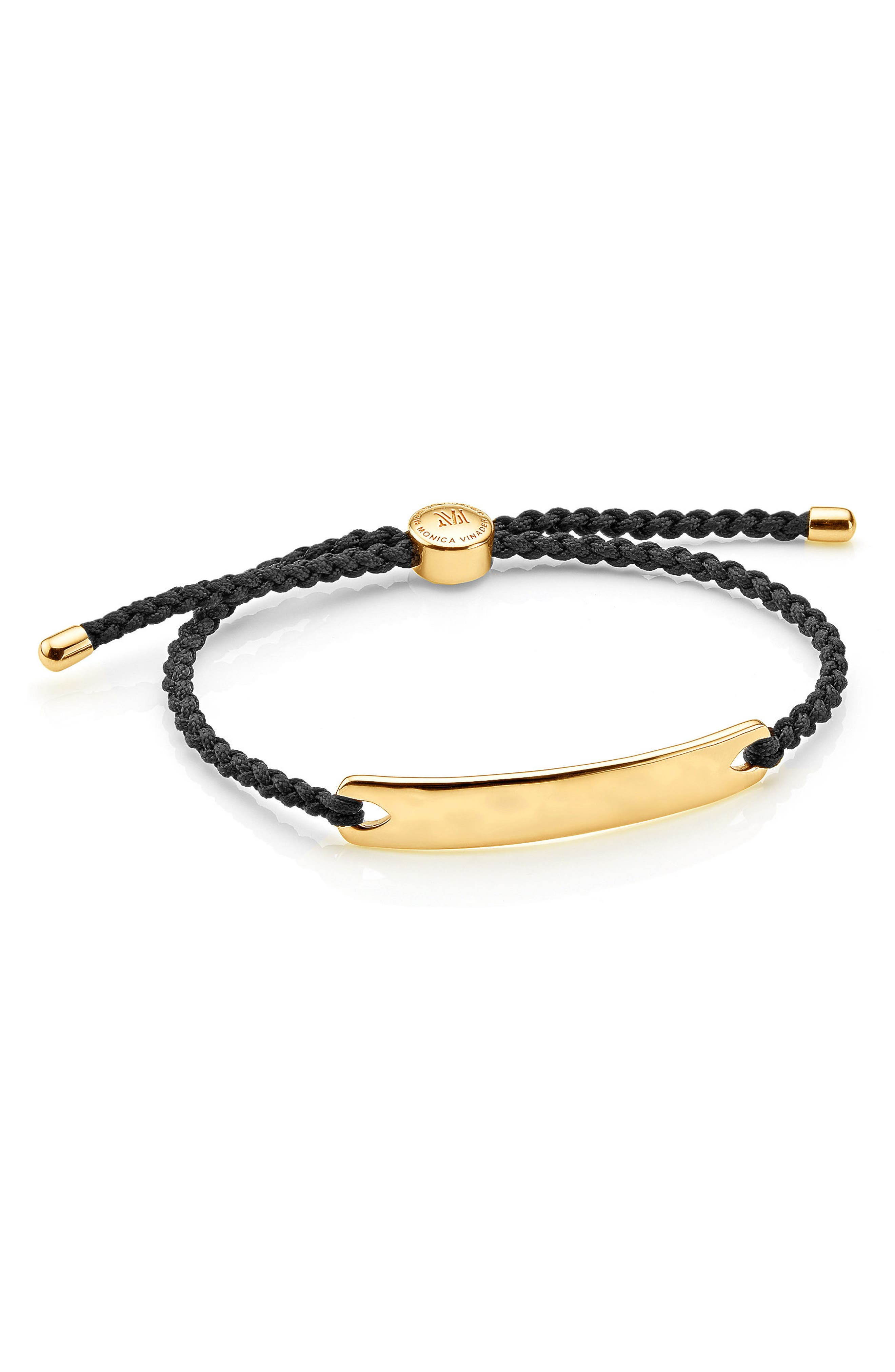 Havana Men's Friendship Bracelet,                         Main,                         color, YELLOW GOLD