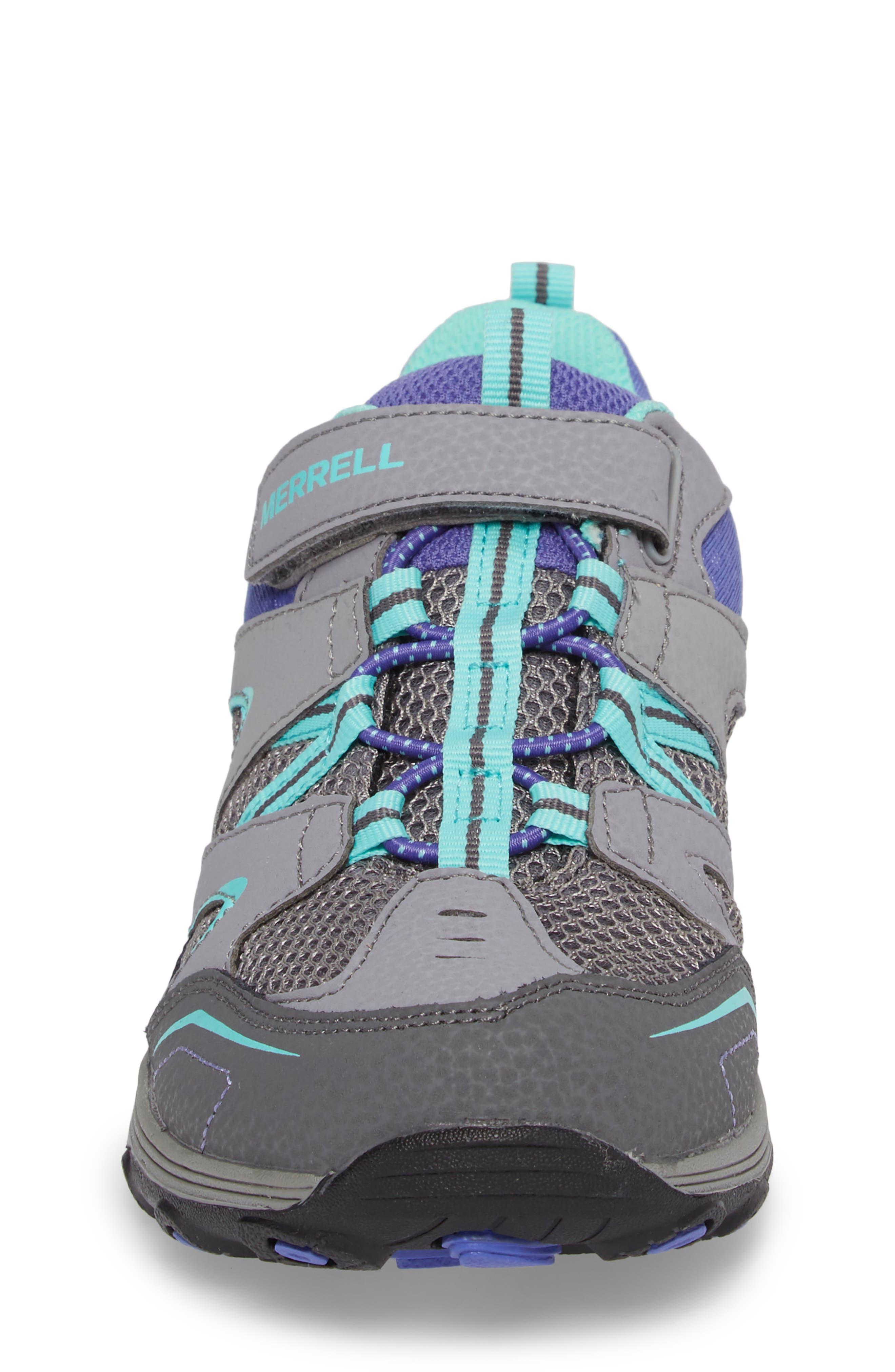 Trail Chaser Sneaker,                             Alternate thumbnail 4, color,                             GREY/ MULTI