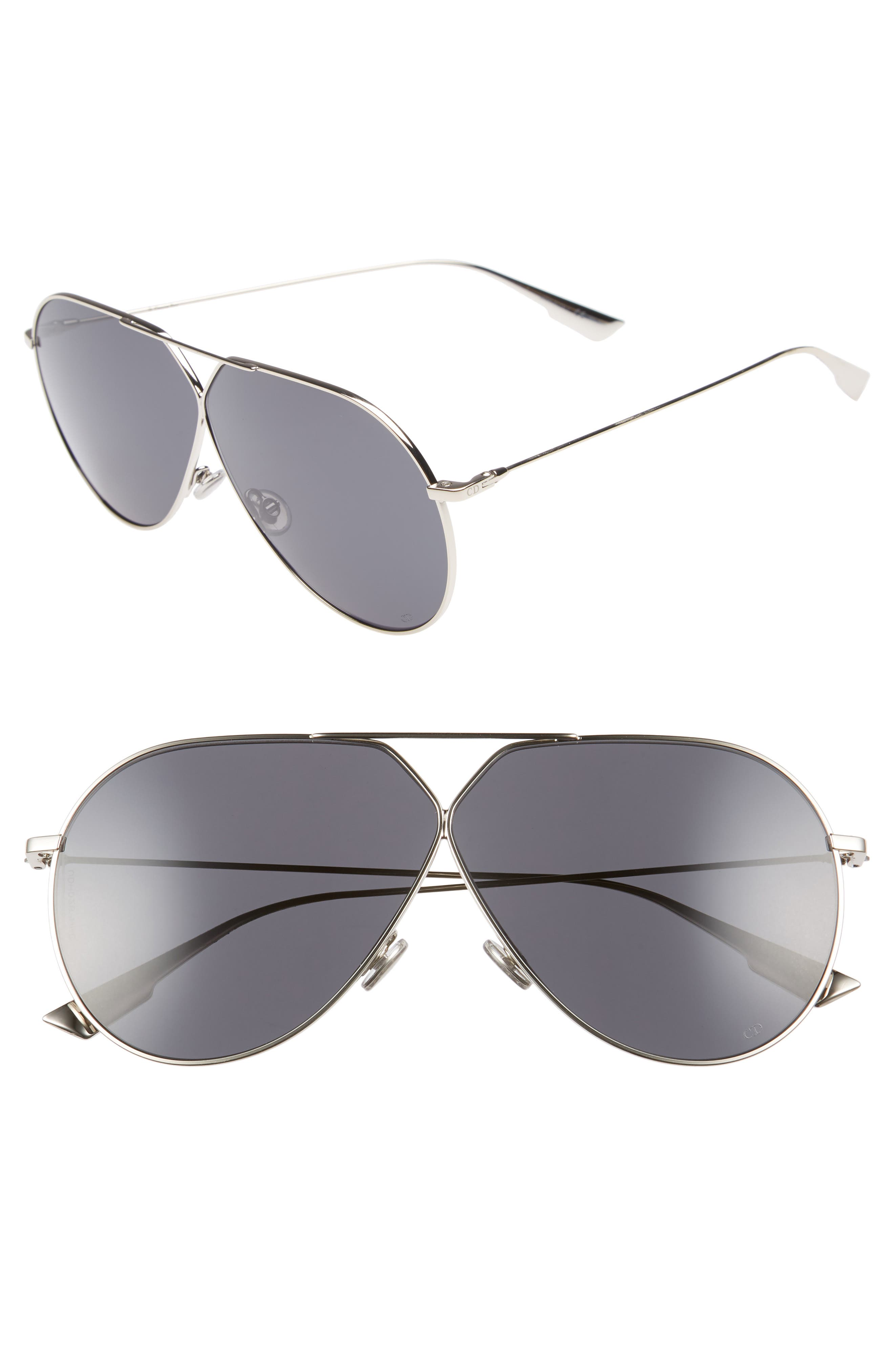 Christian Dior 65Mm Aviator Sunglasses -