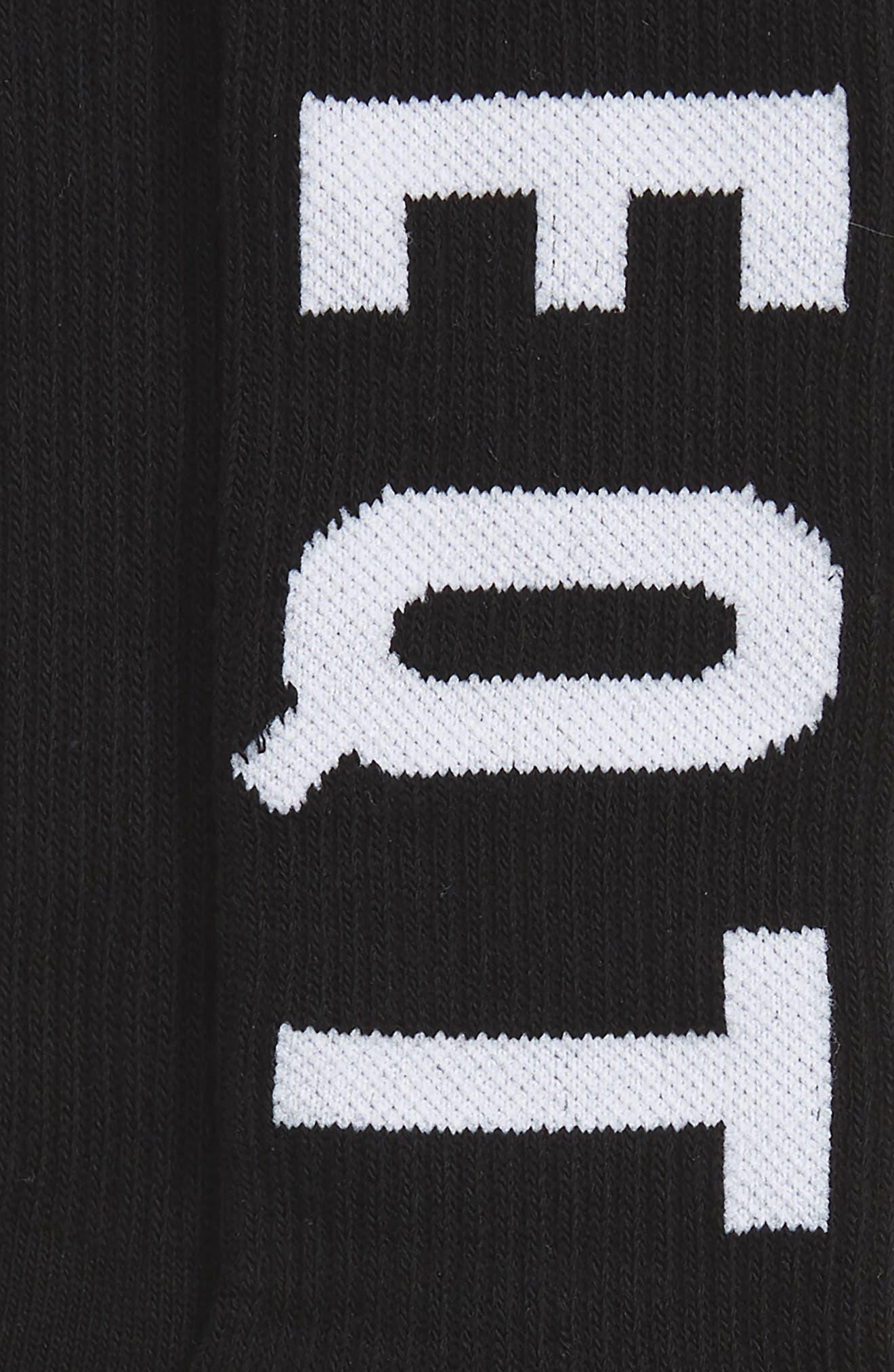 Equipment Crew Socks,                             Alternate thumbnail 3, color,                             001