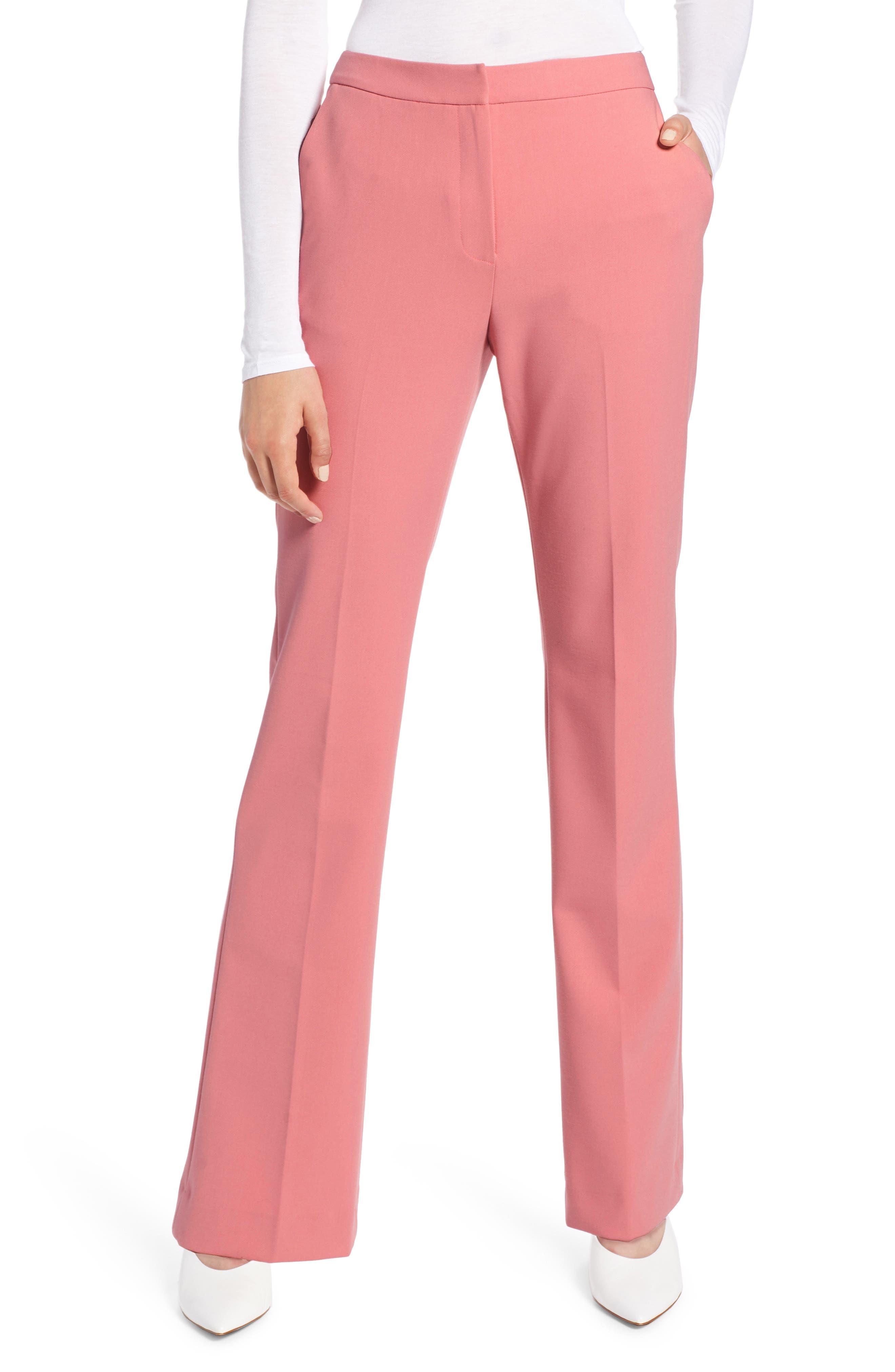 Baby Boot Pants,                         Main,                         color, CORAL MAUVE