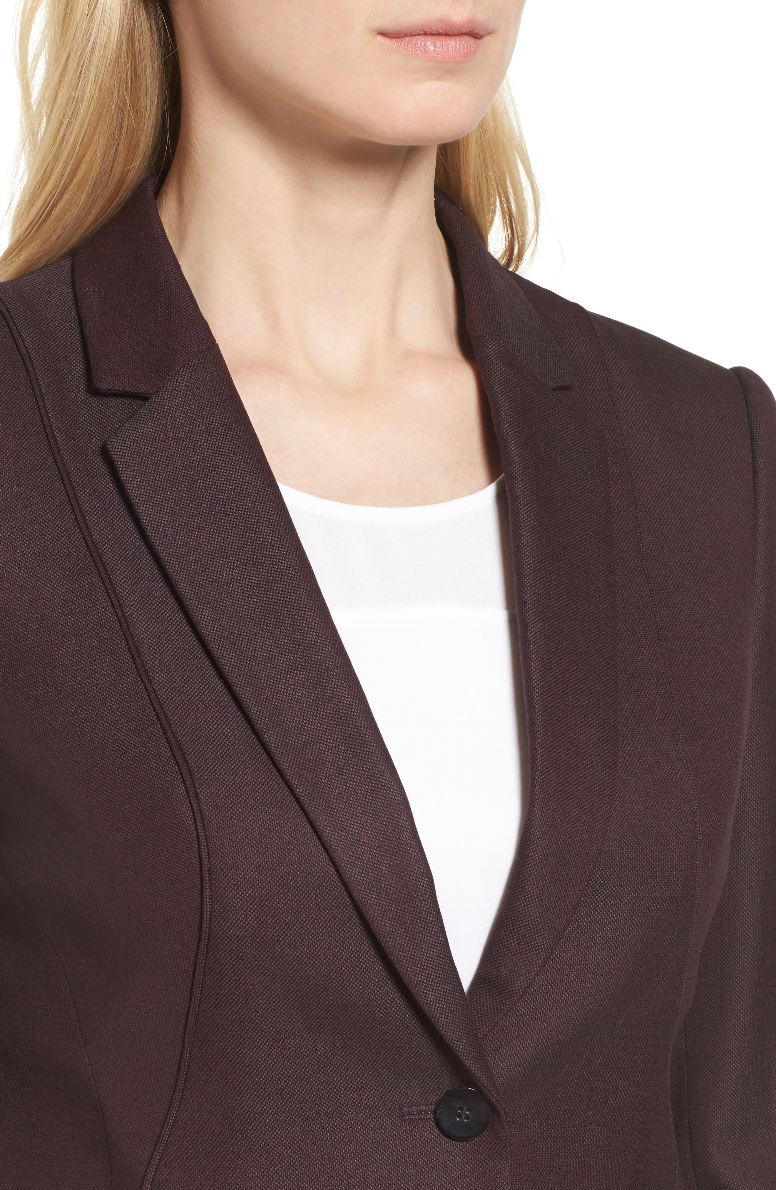 Jenesa Suit Jacket,                             Alternate thumbnail 4, color,