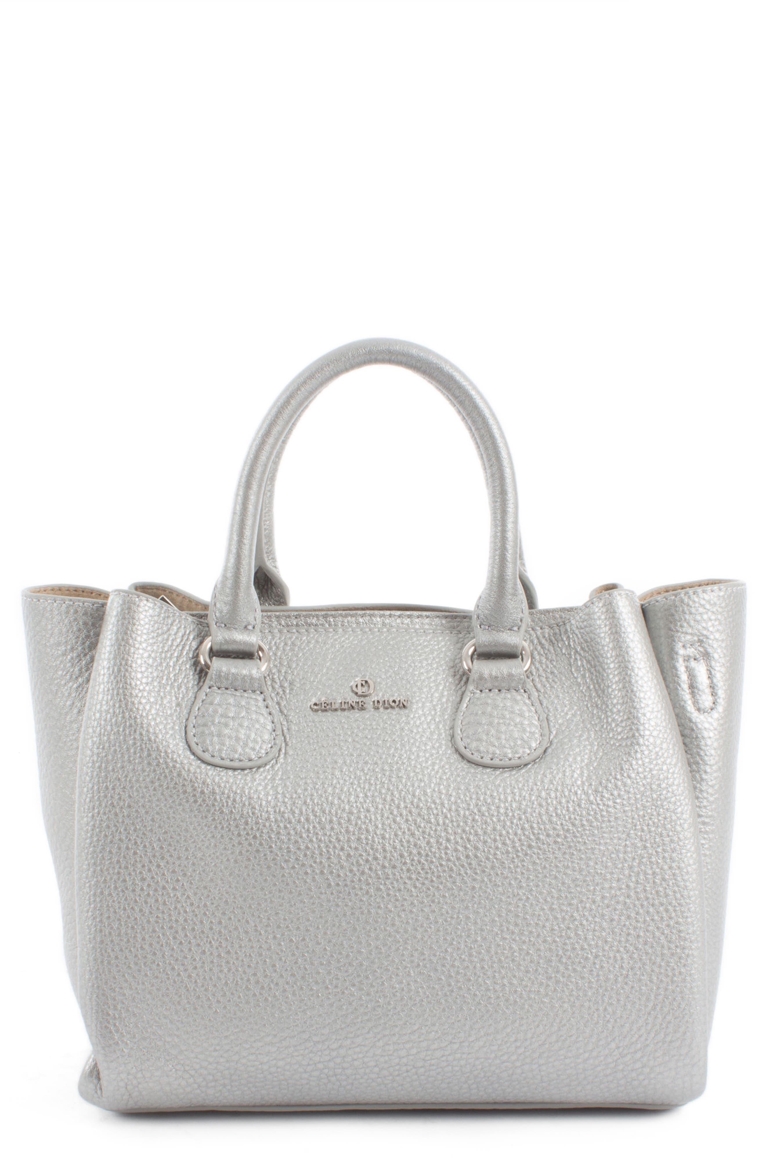 Céline Dion Small Adagio Leather Satchel,                             Main thumbnail 2, color,