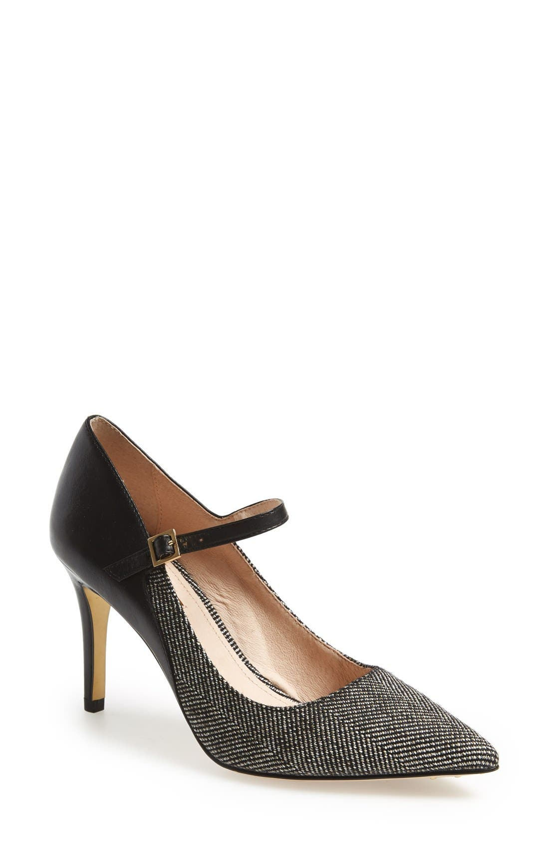 'Ione' Mary Jane Pump,                         Main,                         color, 020