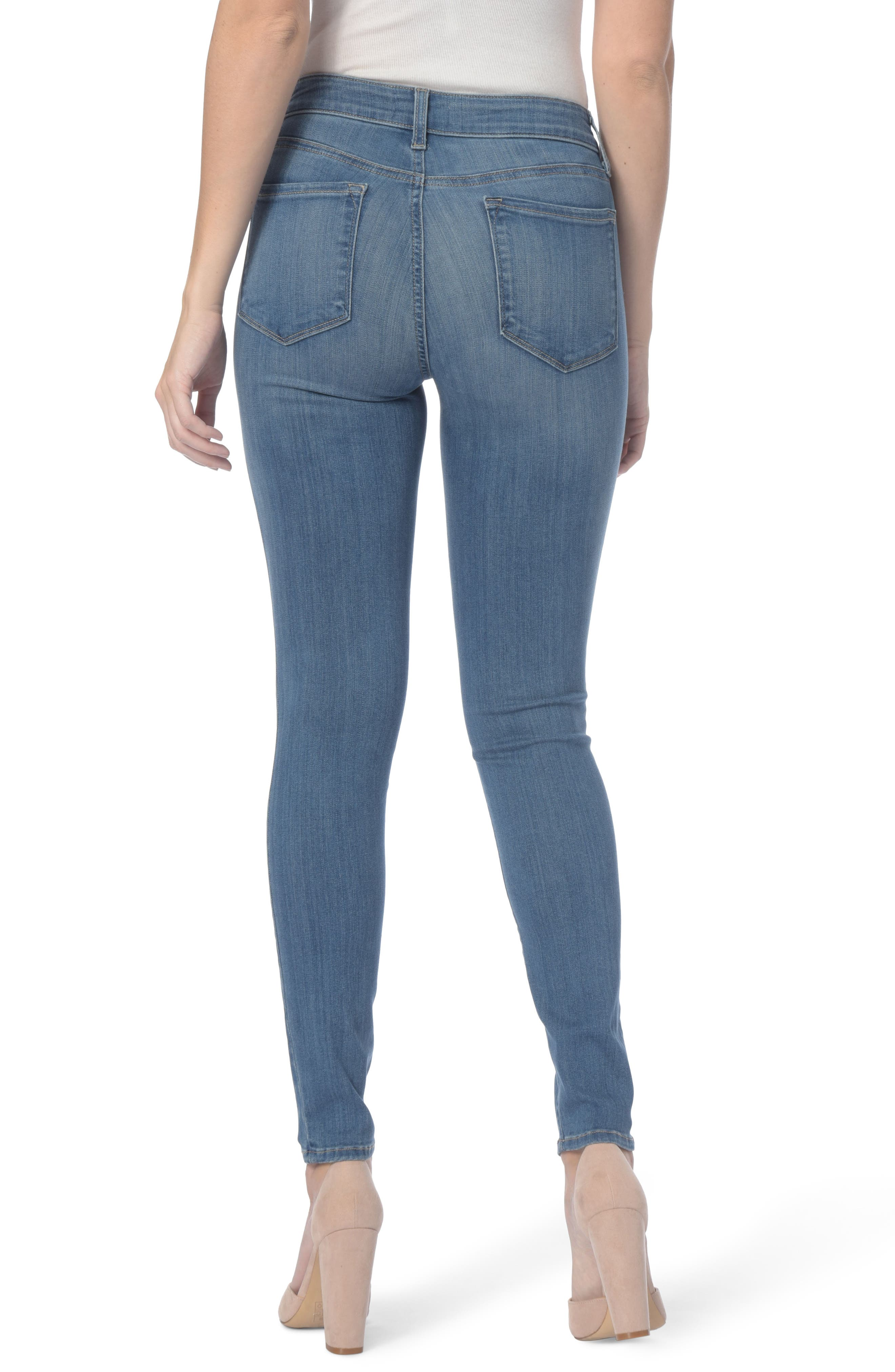 Ami Stretch Super Skinny Jeans,                             Alternate thumbnail 8, color,