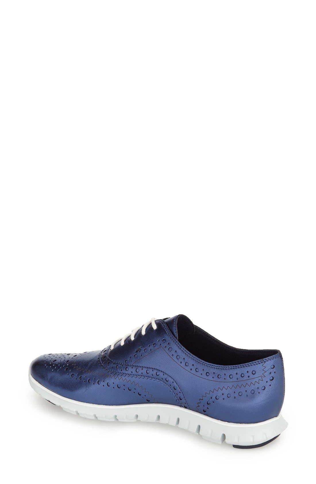 'ZeroGrand' Perforated Wingtip,                             Alternate thumbnail 48, color,