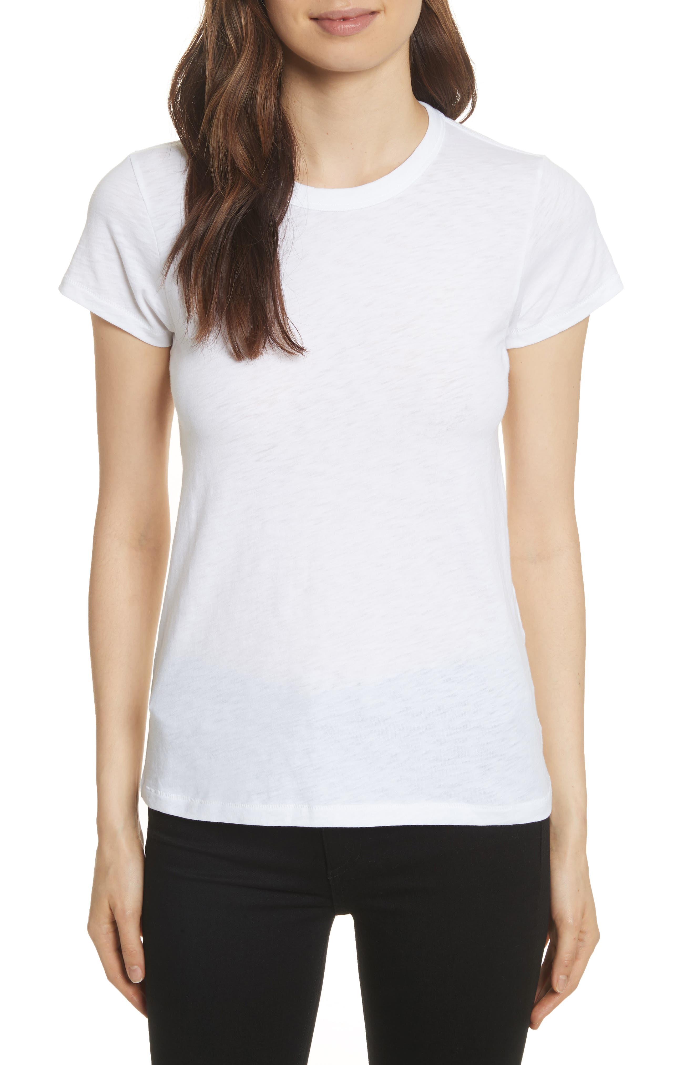 The Tee,                             Main thumbnail 1, color,                             BRIGHT WHITE