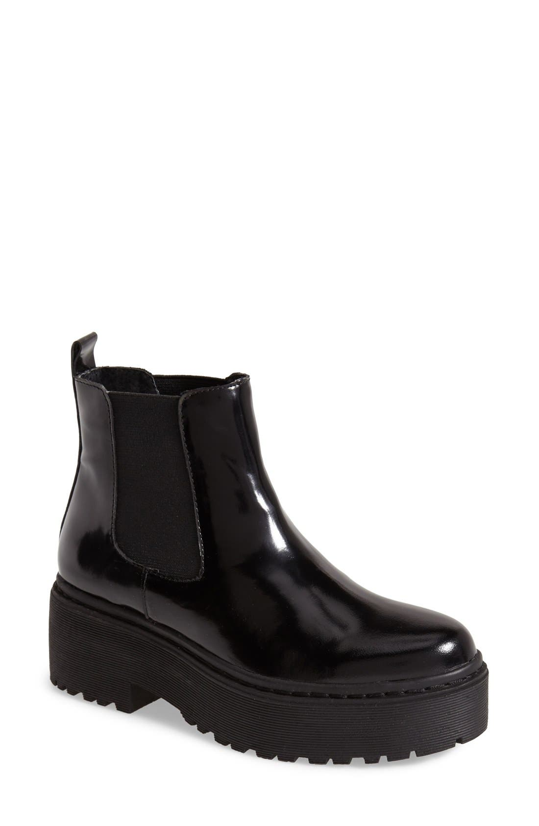 JEFFREY CAMPBELL 'Universal' Chelsea Boot, Main, color, 001