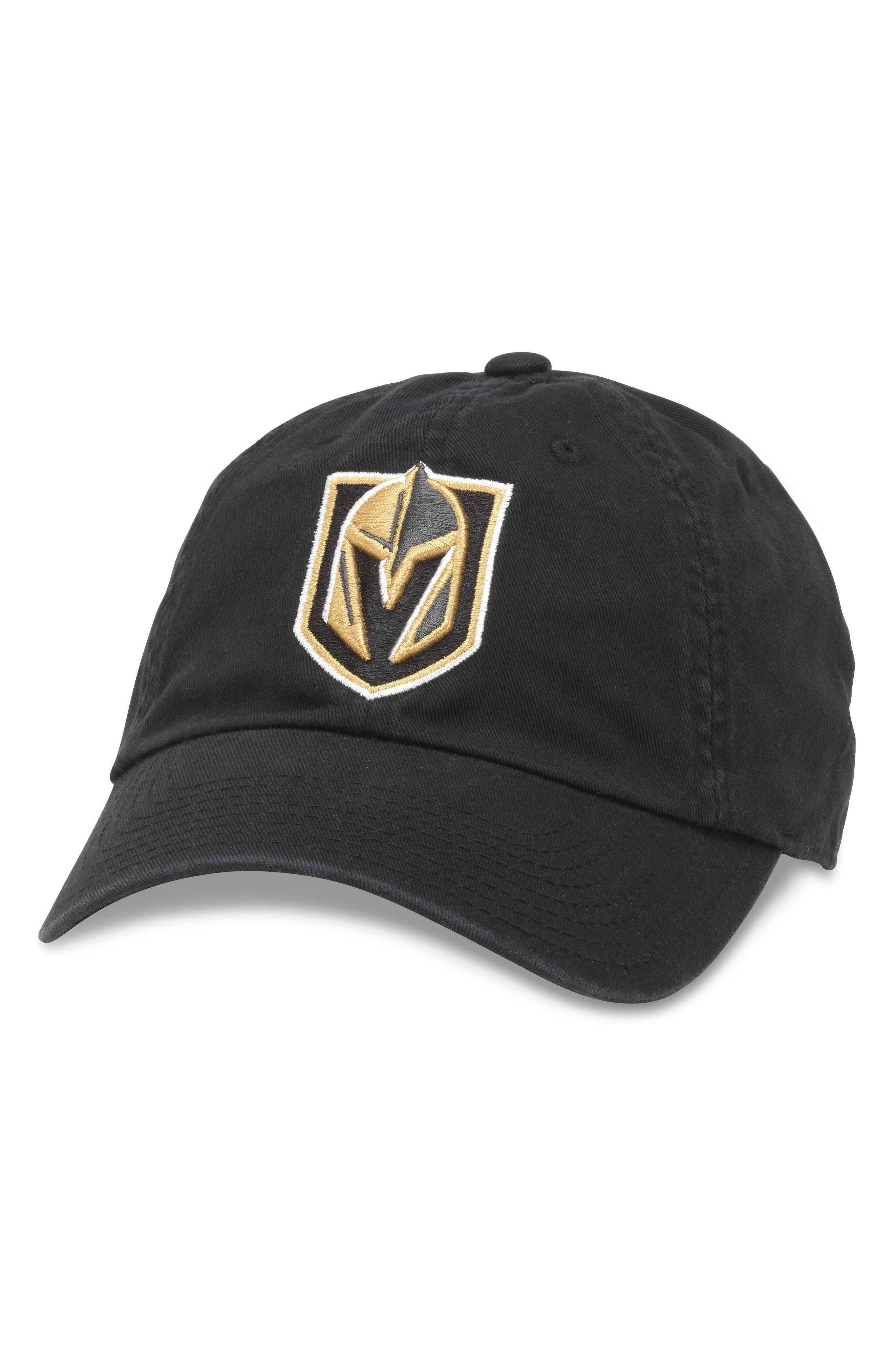 Blue Line NHL Cap,                             Main thumbnail 1, color,                             VEGAS KNIGHTS/ BLACK