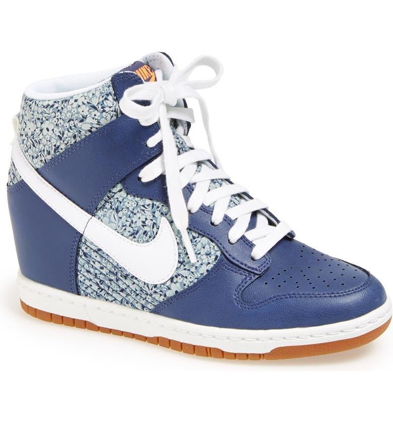 premium selection e0abf ff0bf NIKE Dunk Sky Hi Liberty Hidden Wedge Sneaker, Main, color, ...