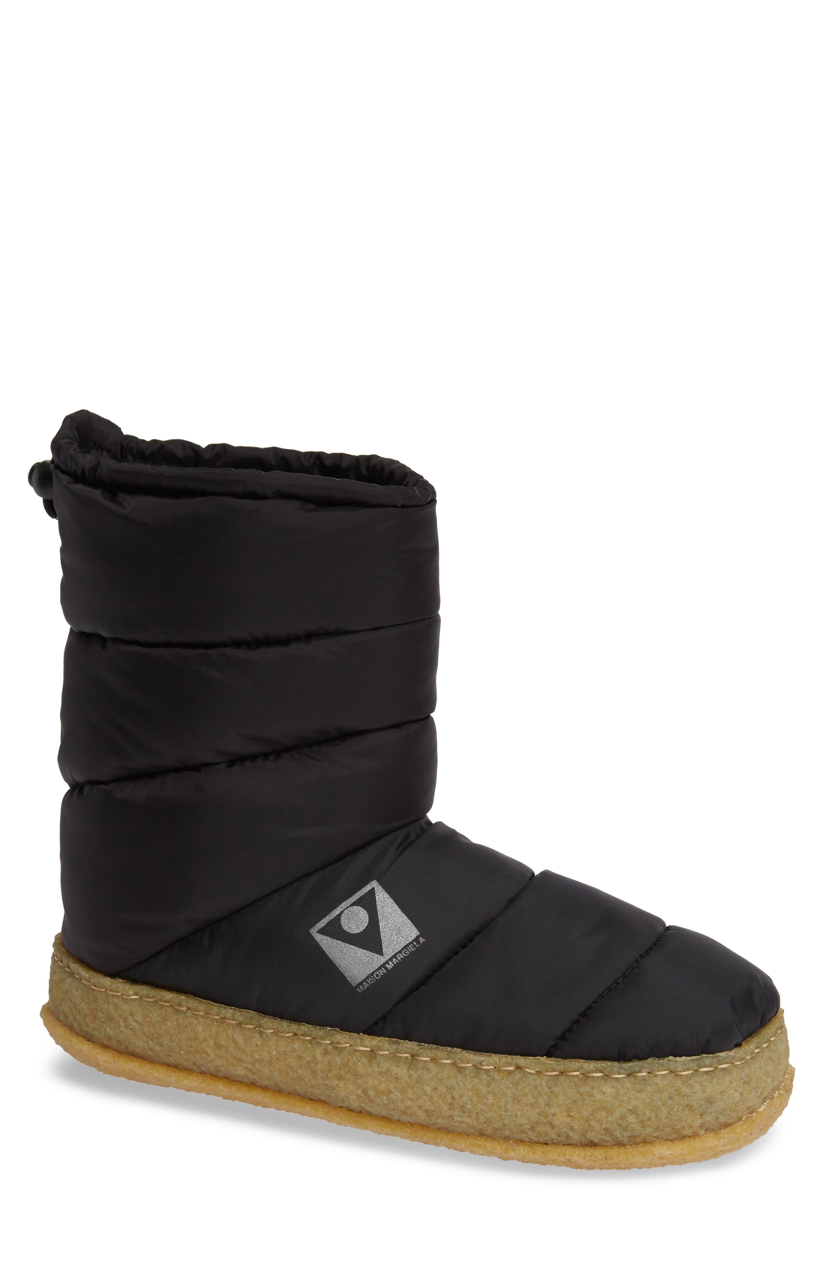 Maison Margiela Puffer Ankle Boot, Black