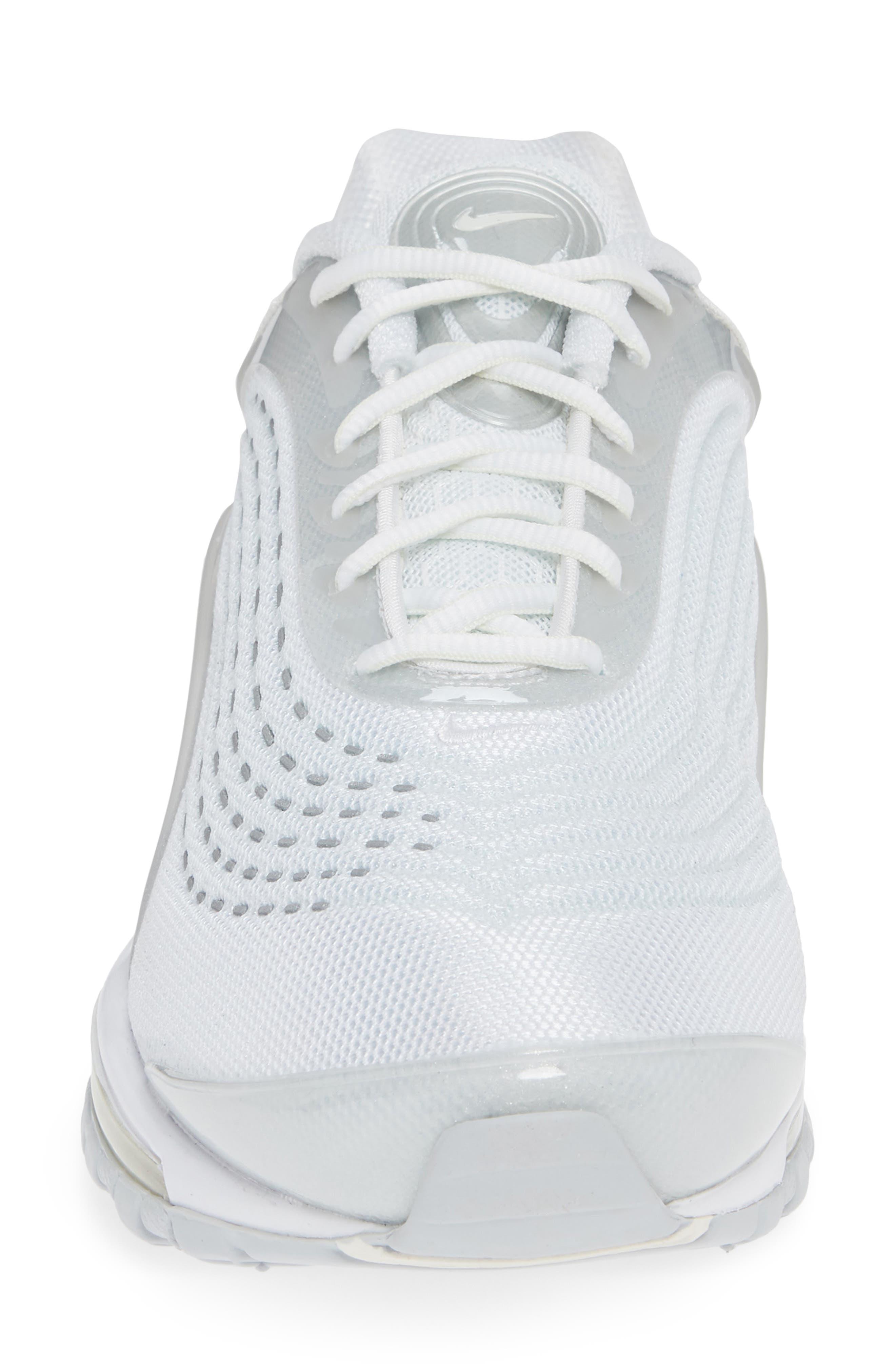 NIKE,                             Air Max Deluxe Sneaker,                             Alternate thumbnail 4, color,                             WHITE/ SAIL/ PURE PLATINUM