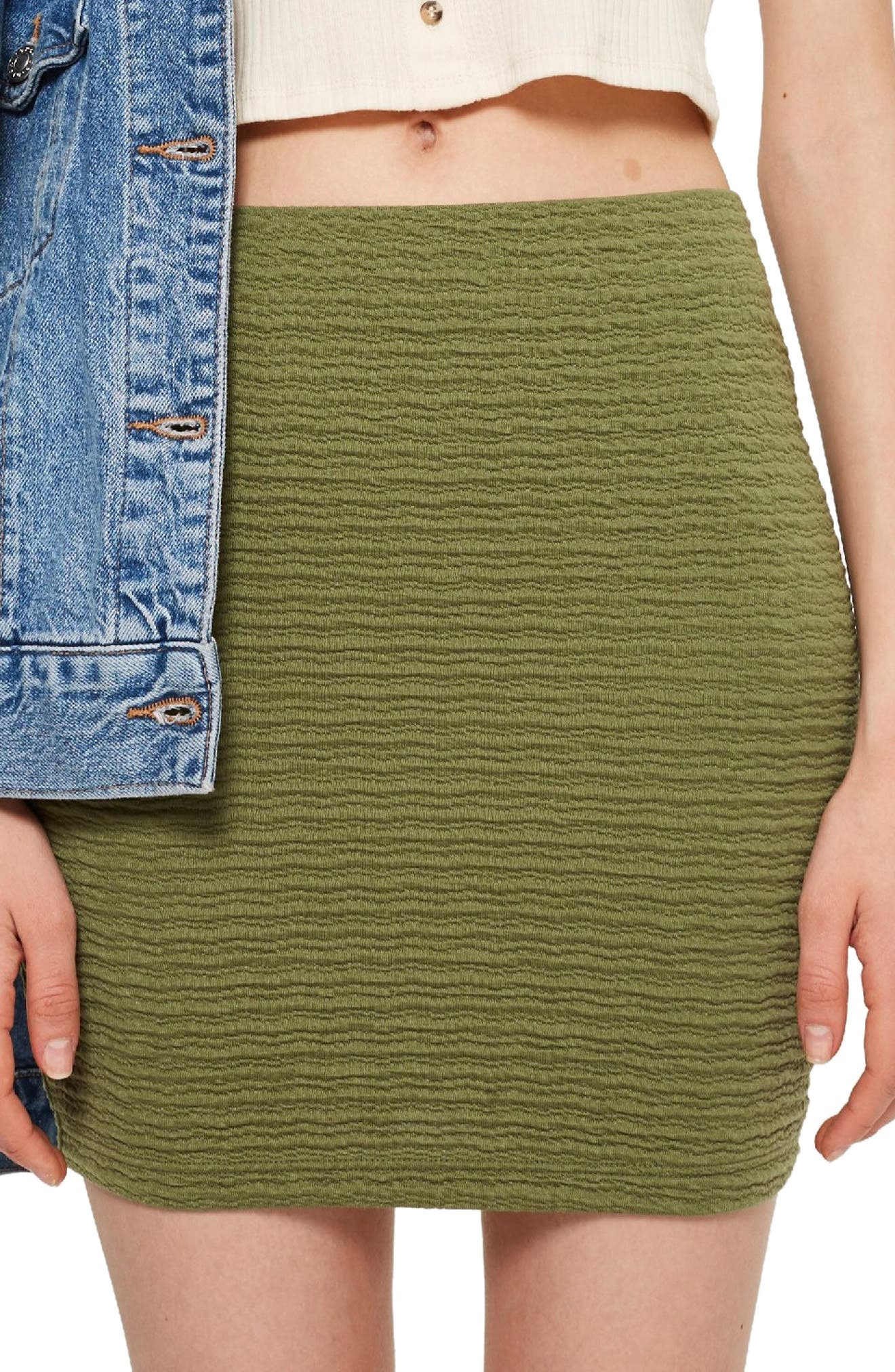 Textured Miniskirt,                             Main thumbnail 1, color,                             300