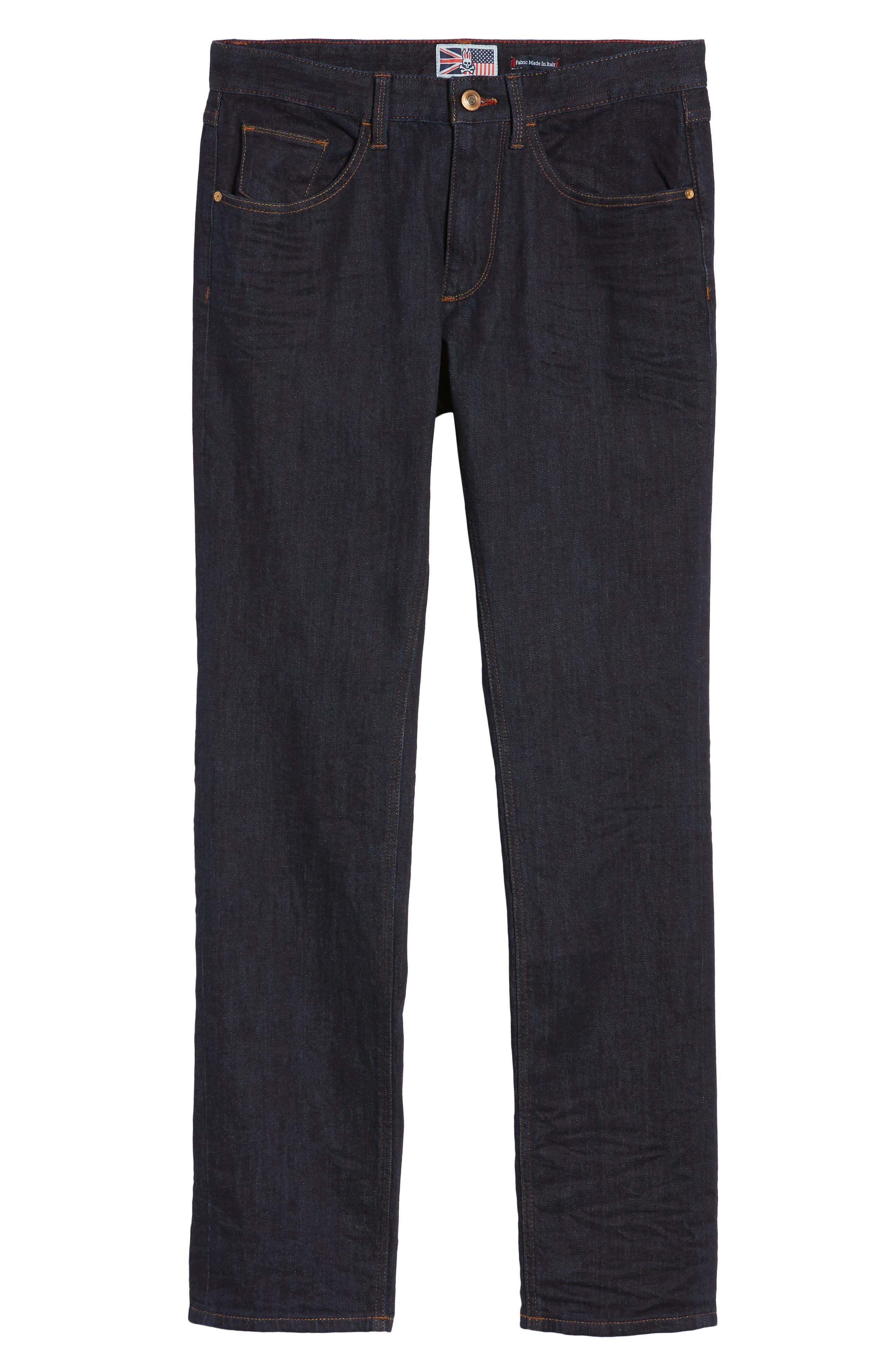 Canal Slim Fit Jeans,                             Alternate thumbnail 6, color,                             460