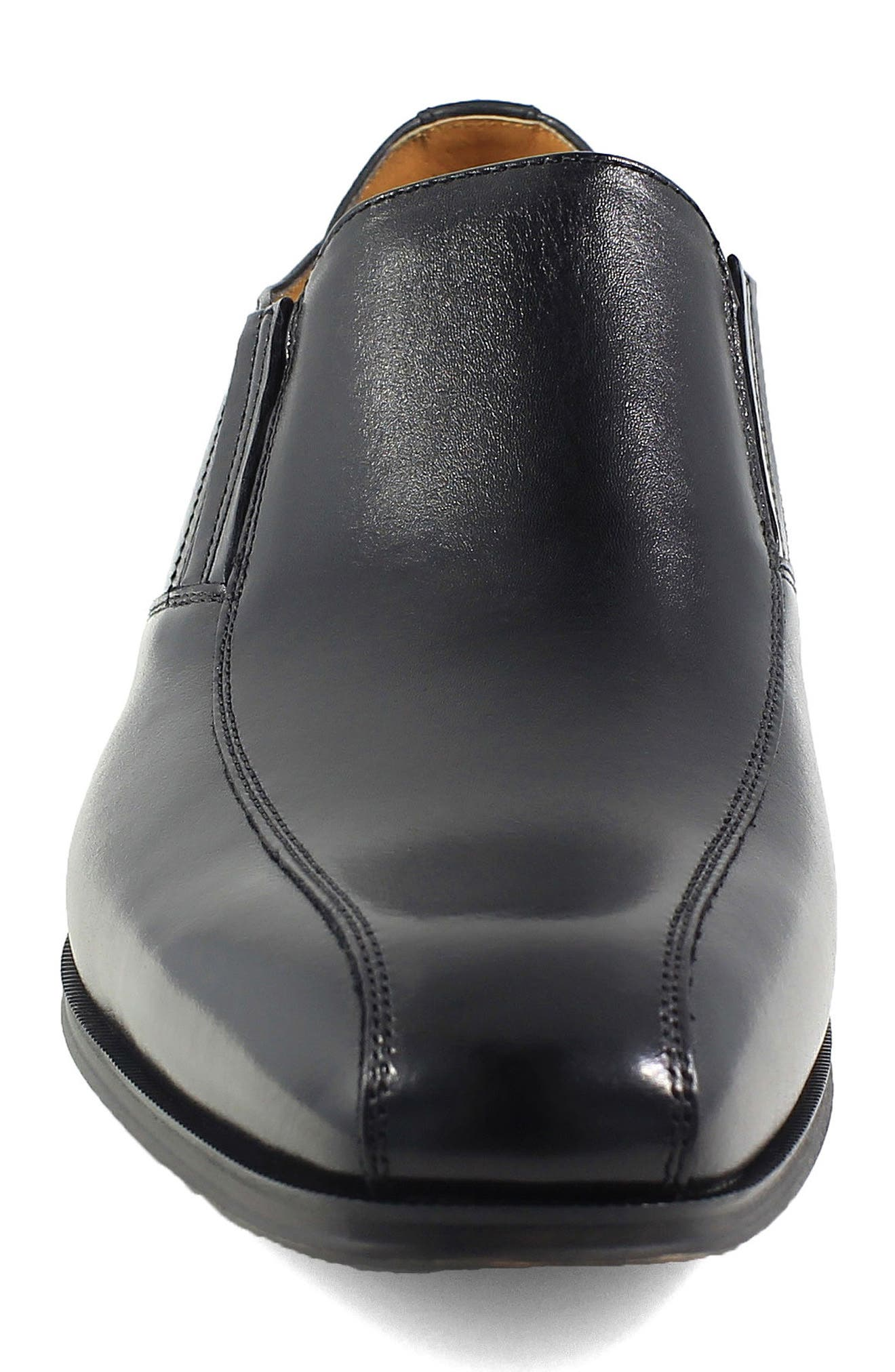 Corbetta Venetian Loafer,                             Alternate thumbnail 4, color,                             BLACK