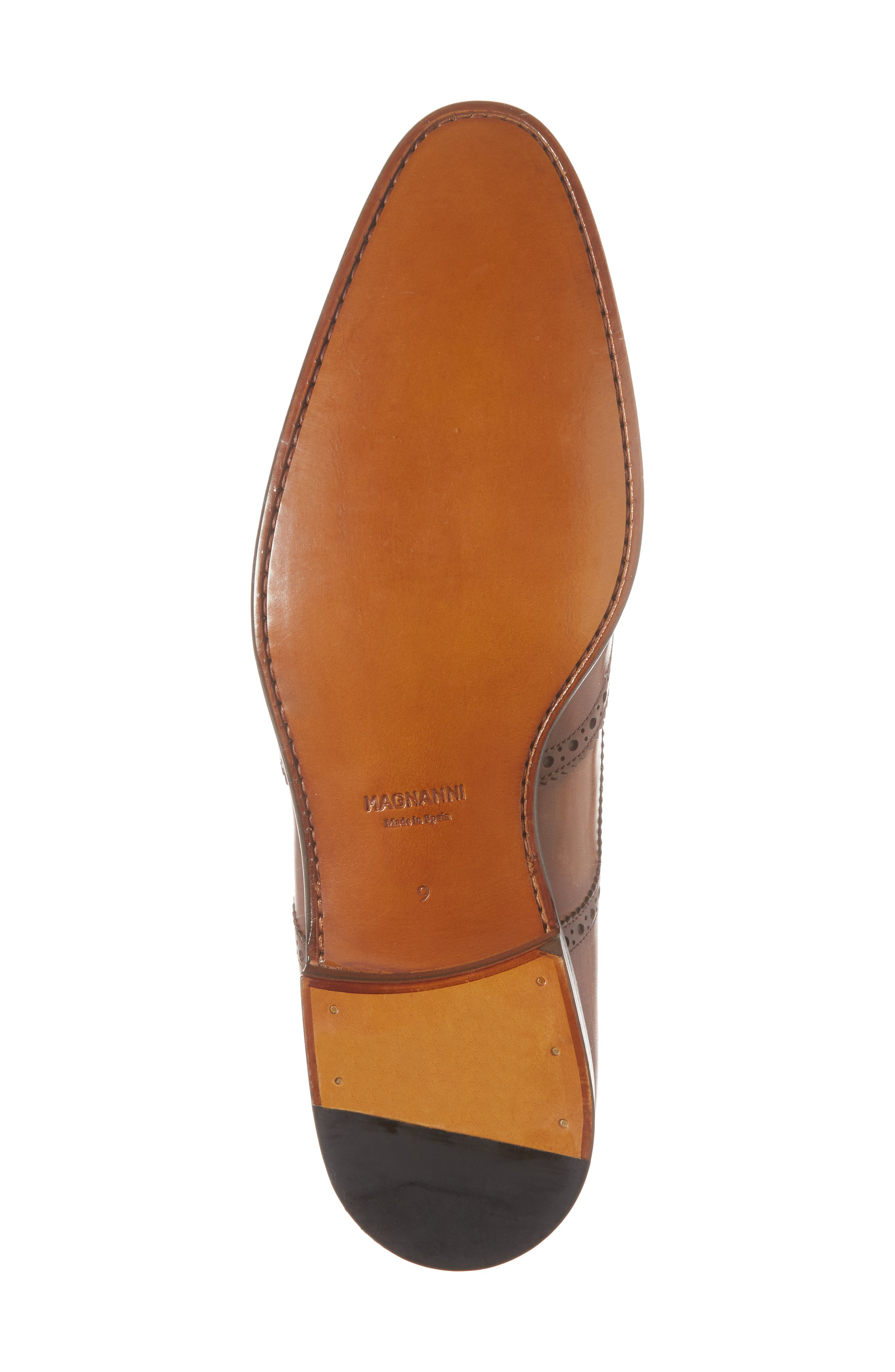 Bosco Wingtip Derby,                             Alternate thumbnail 6, color,                             BROWN LEATHER
