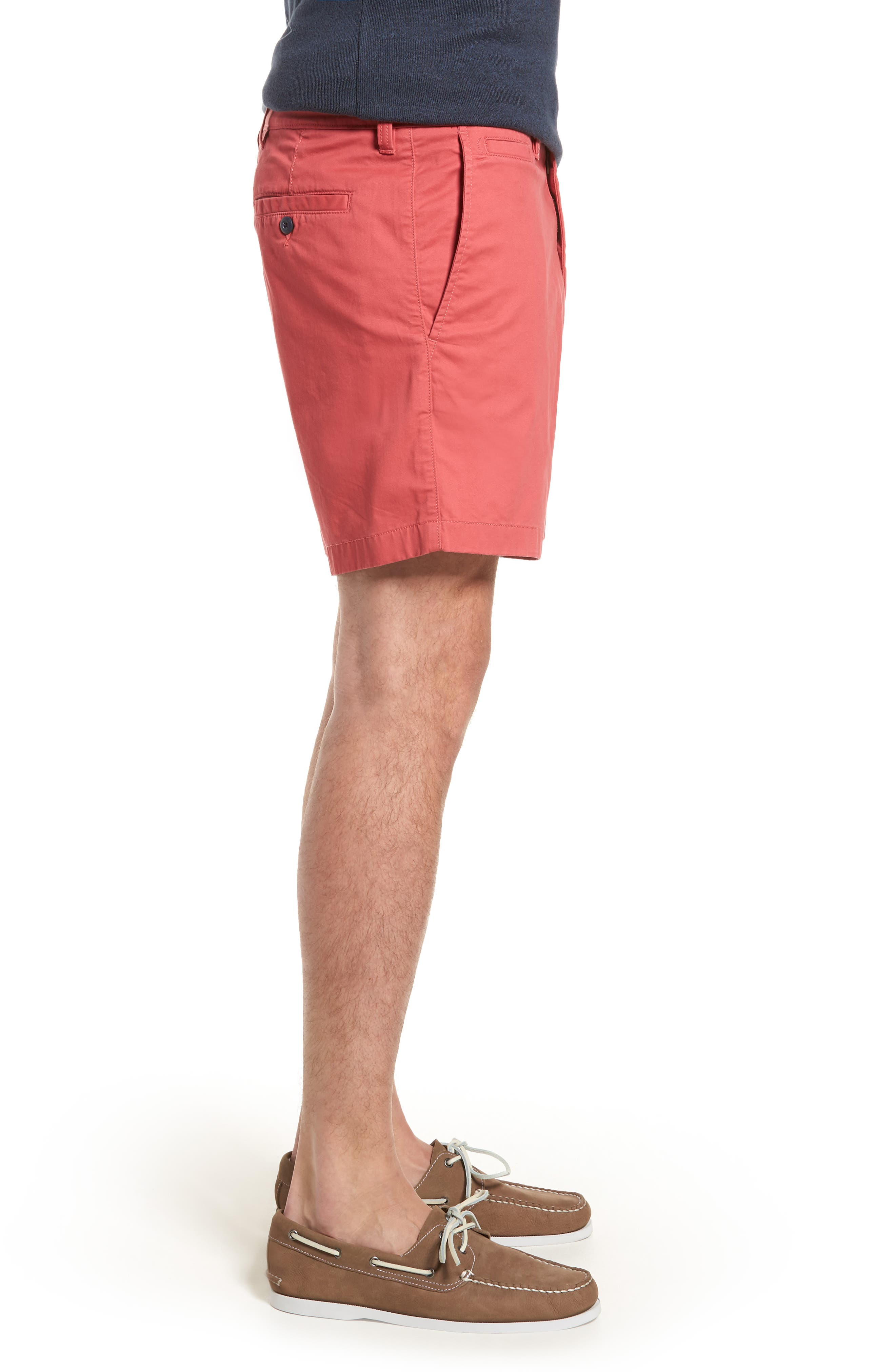 Ballard Slim Fit Stretch Chino 7-Inch Shorts,                             Alternate thumbnail 35, color,