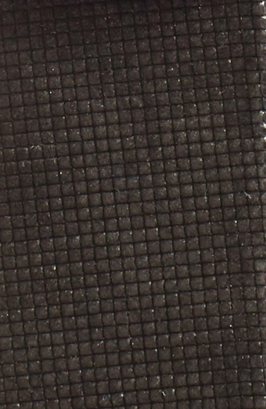 Leather Belt,                             Alternate thumbnail 3, color,                             GREY
