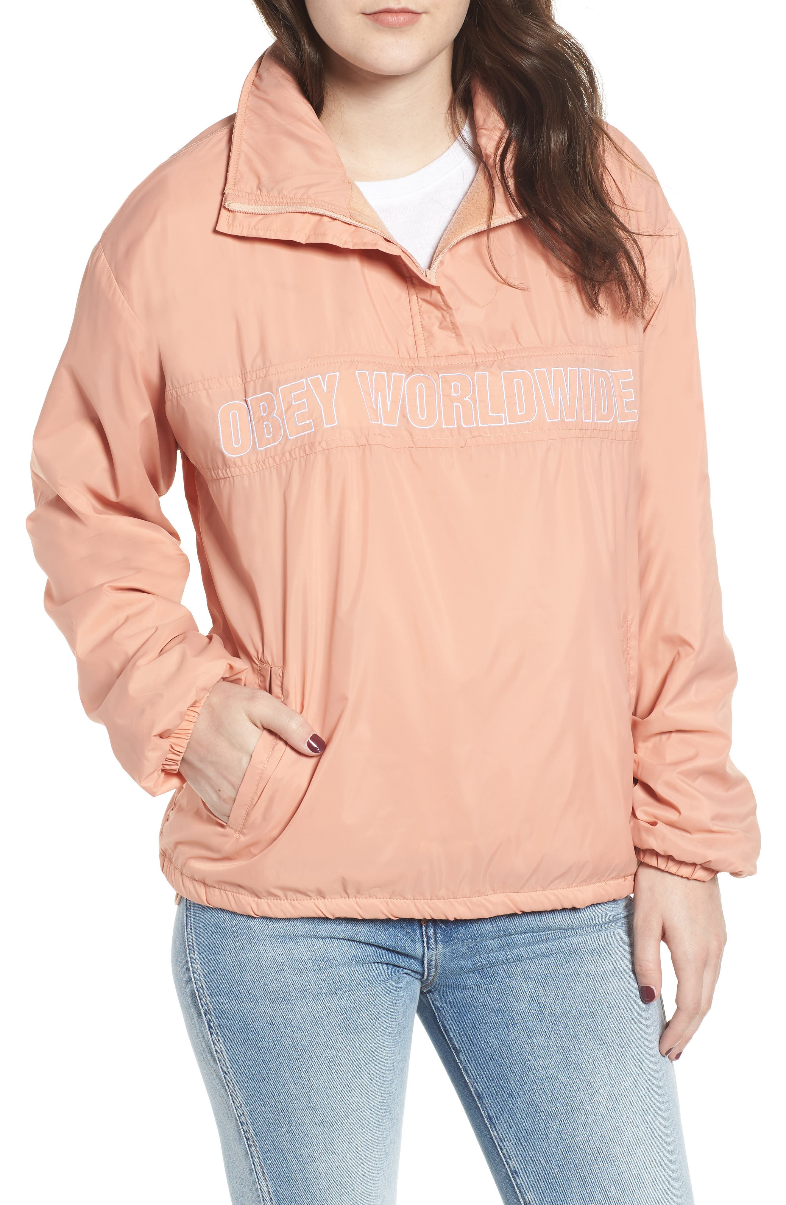OBEY,                             Bunker Anorak,                             Main thumbnail 1, color,                             950