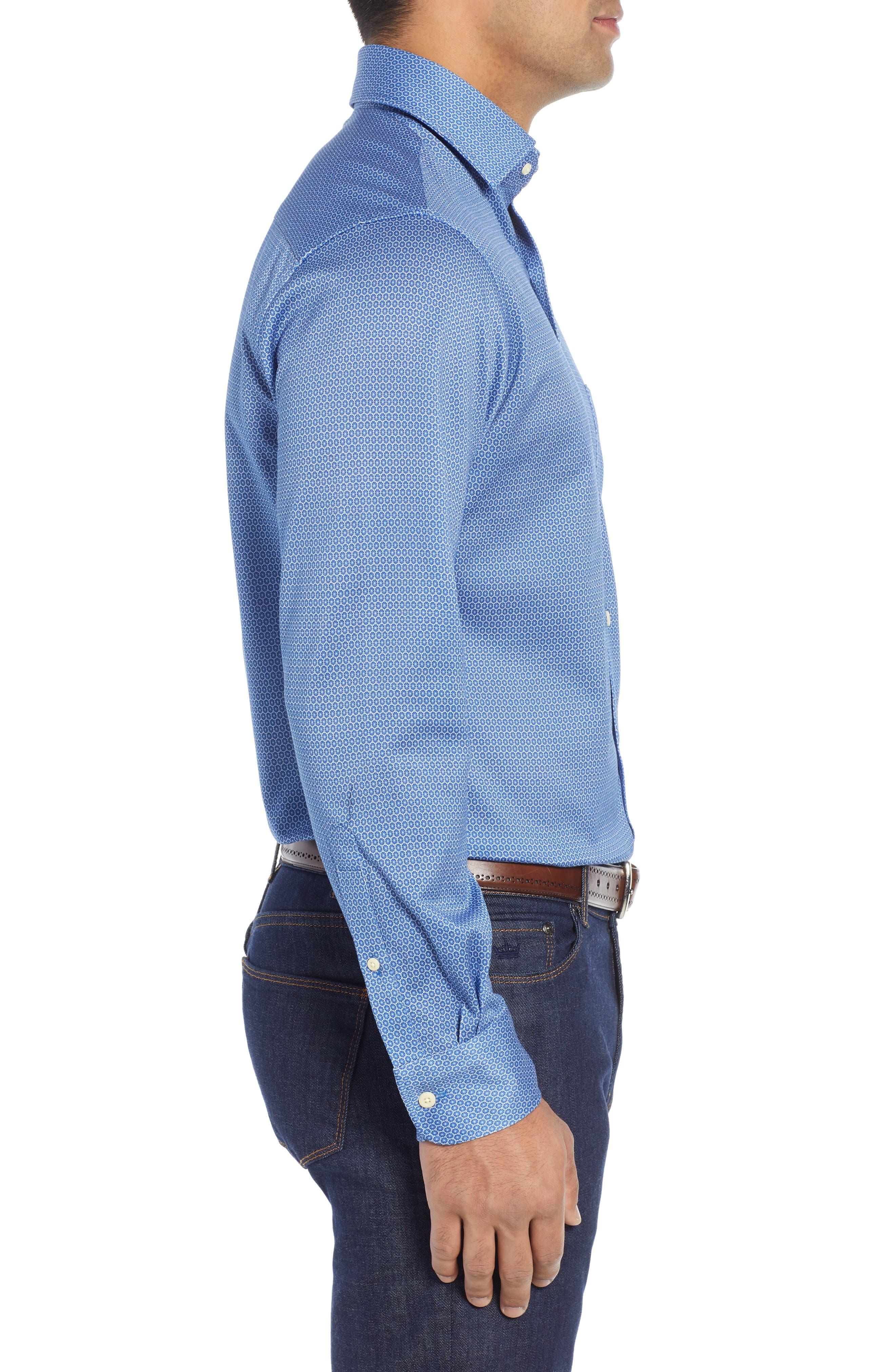 Schwinn Sport Shirt,                             Alternate thumbnail 4, color,                             PLAZA BLUE